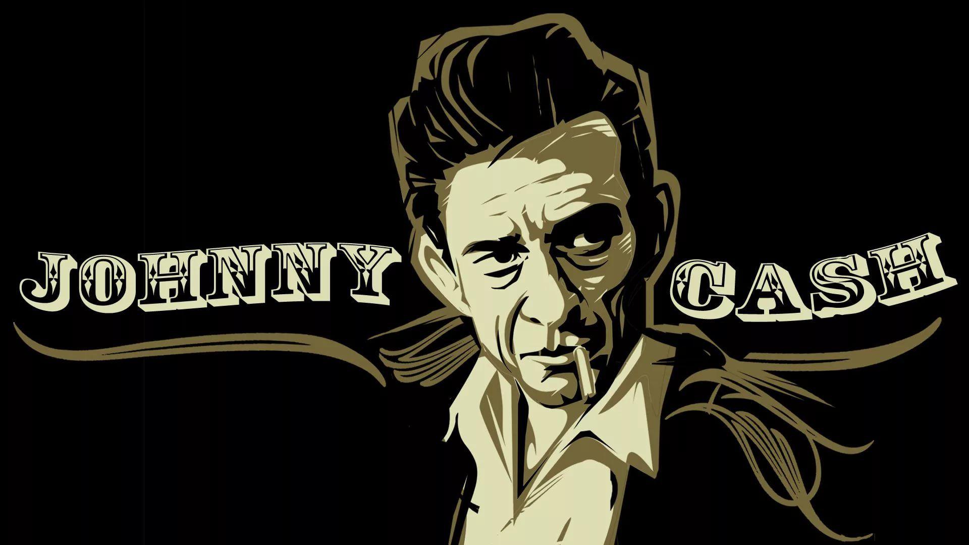 Johnny Cash hd desktop wallpaper