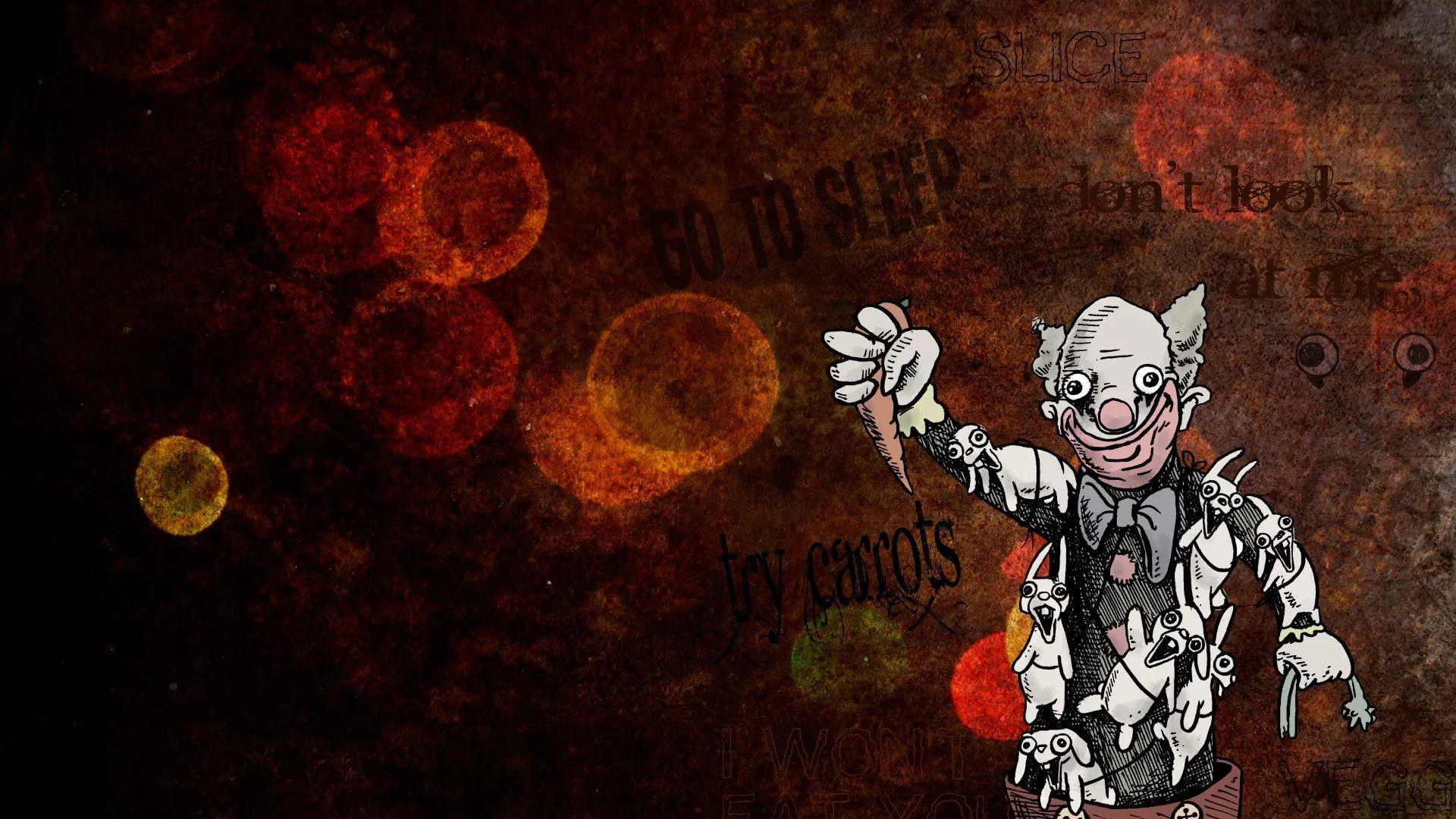 Killer Clown free hd wallpaper