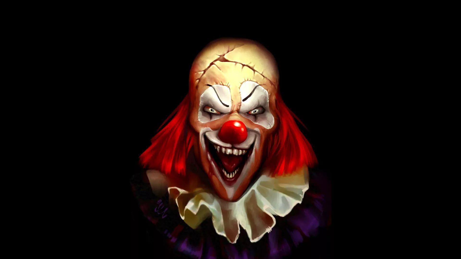 Killer Clown background wallpaper