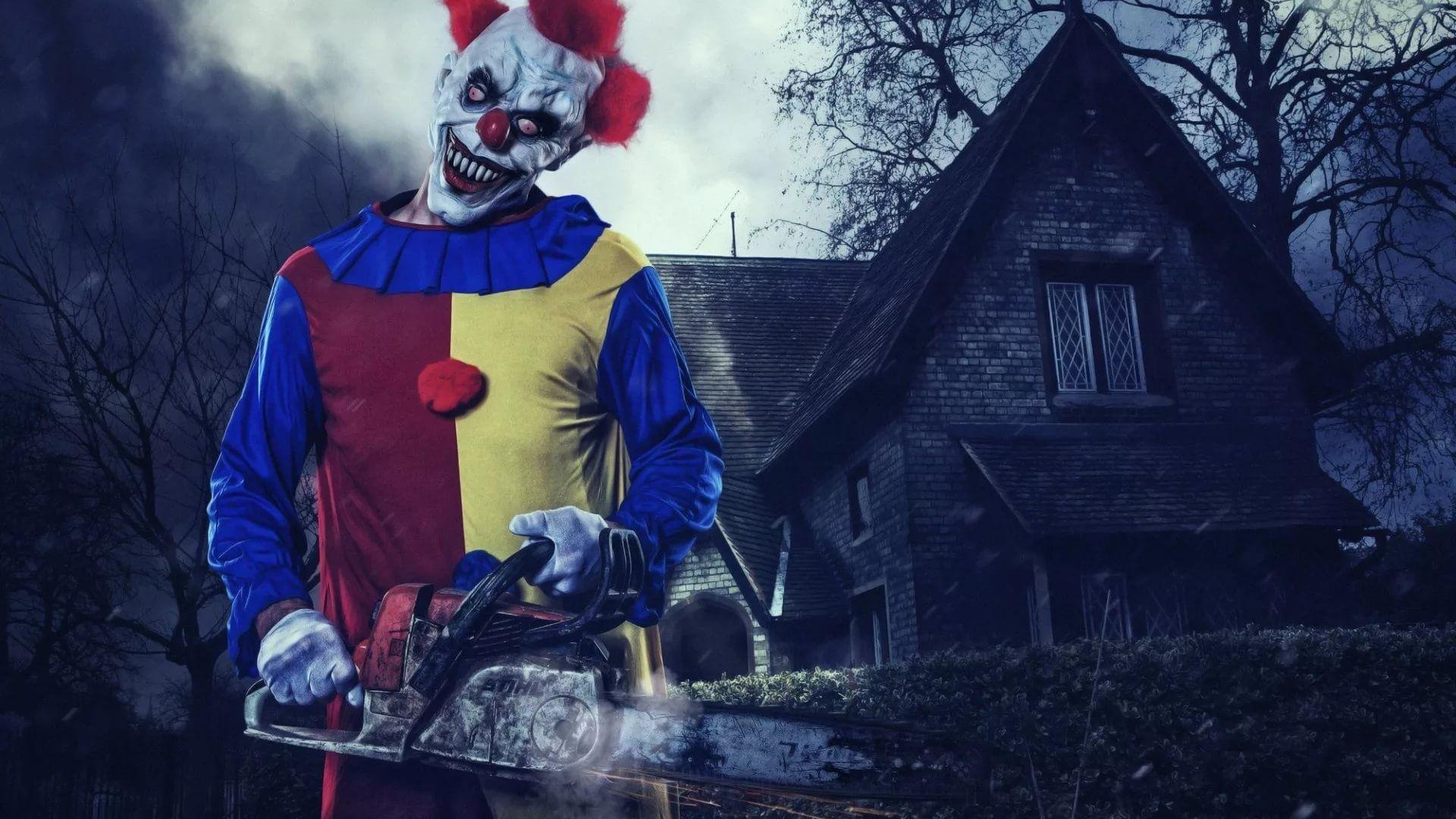 Killer Clown Background Wallpaper HD
