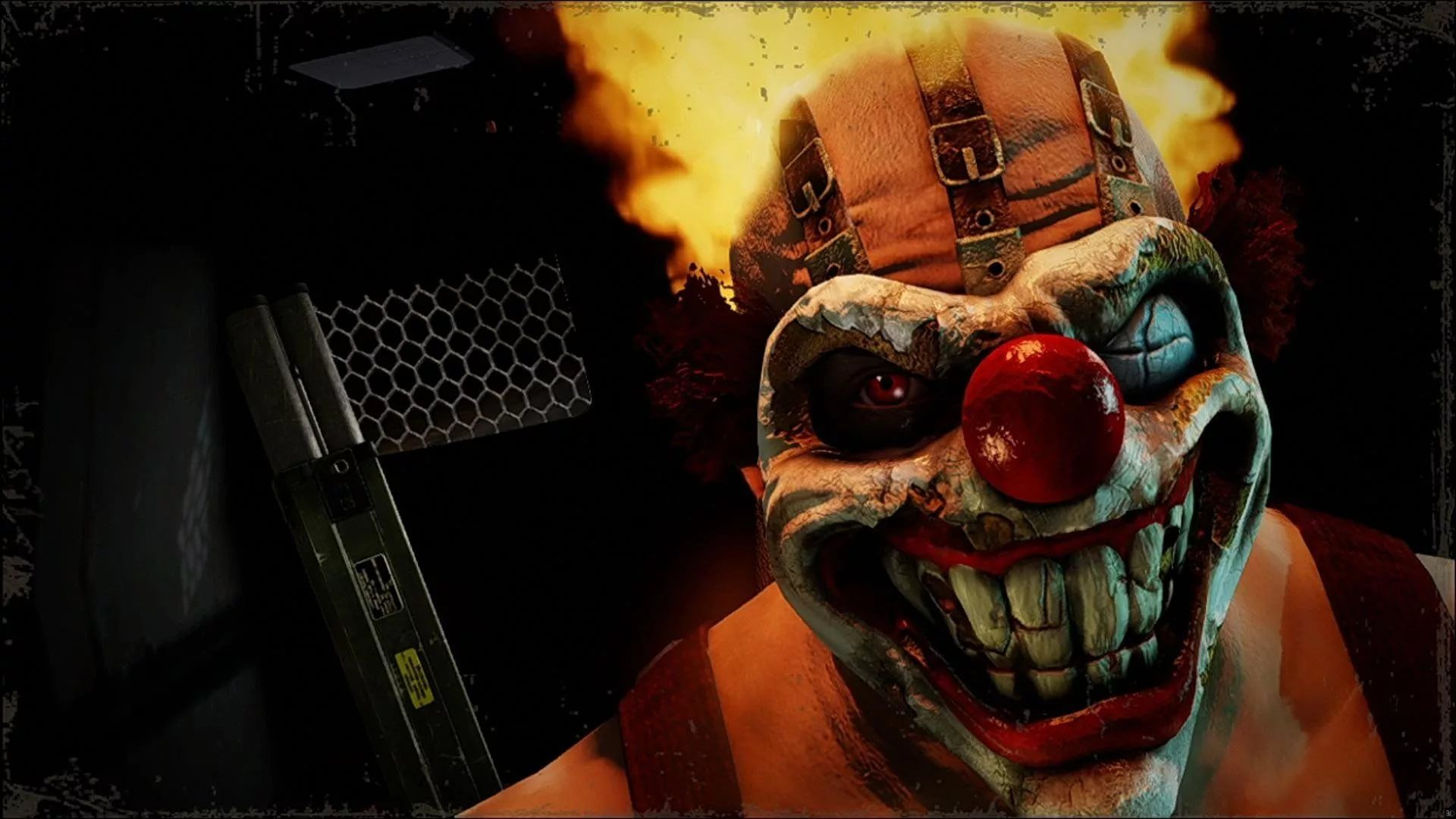 Killer Clown HD 1080 wallpaper