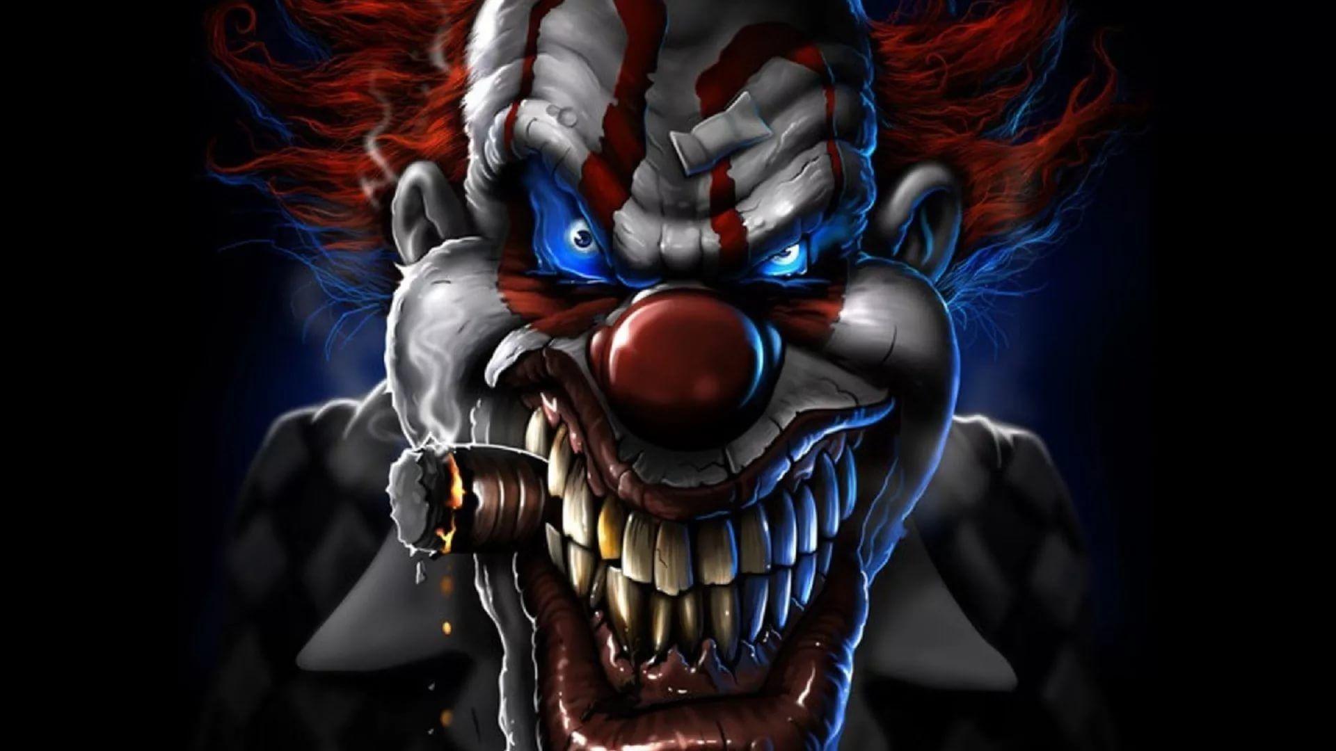 Killer Clown wallpaper photo full hd