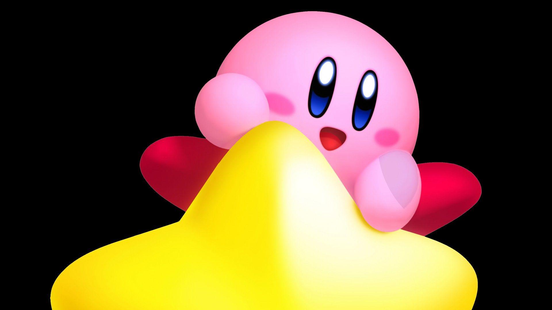 Kirby Cool HD Wallpaper