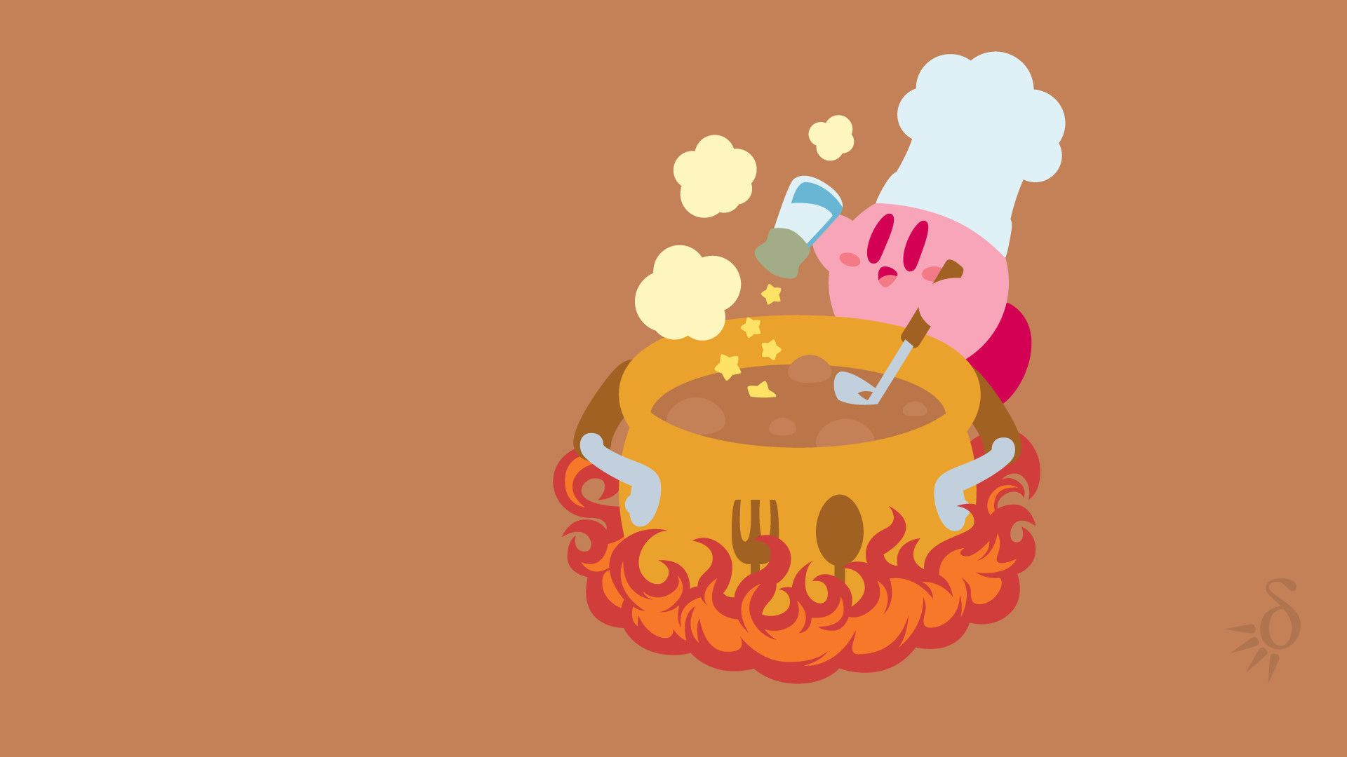 Kirby Background Wallpaper