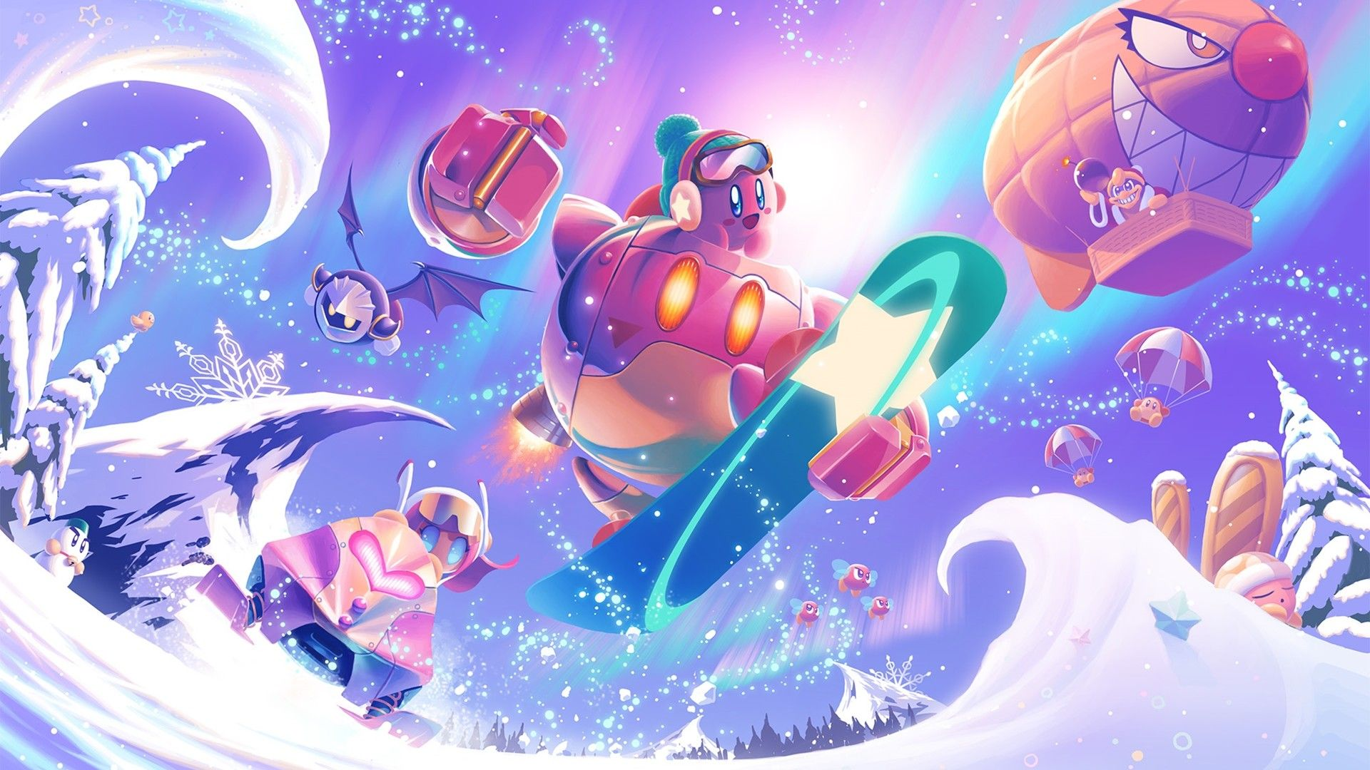 Kirby new wallpaper