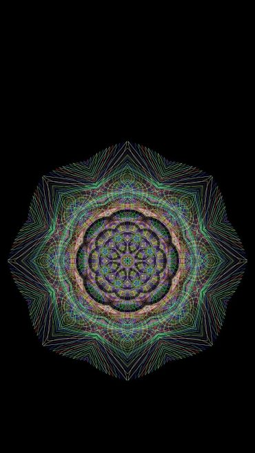 Mandala iPhone hd wallpaper