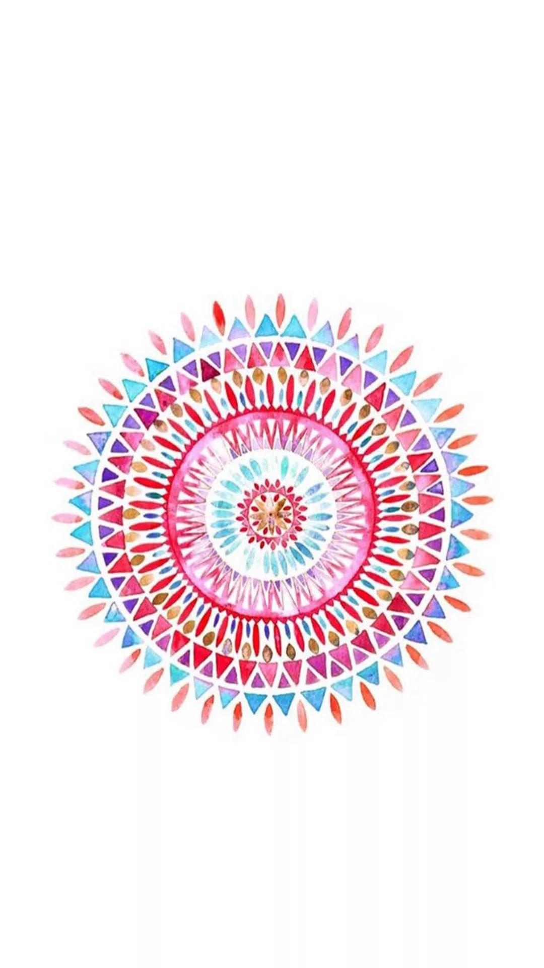 Mandala iPhone 6 wallpaper