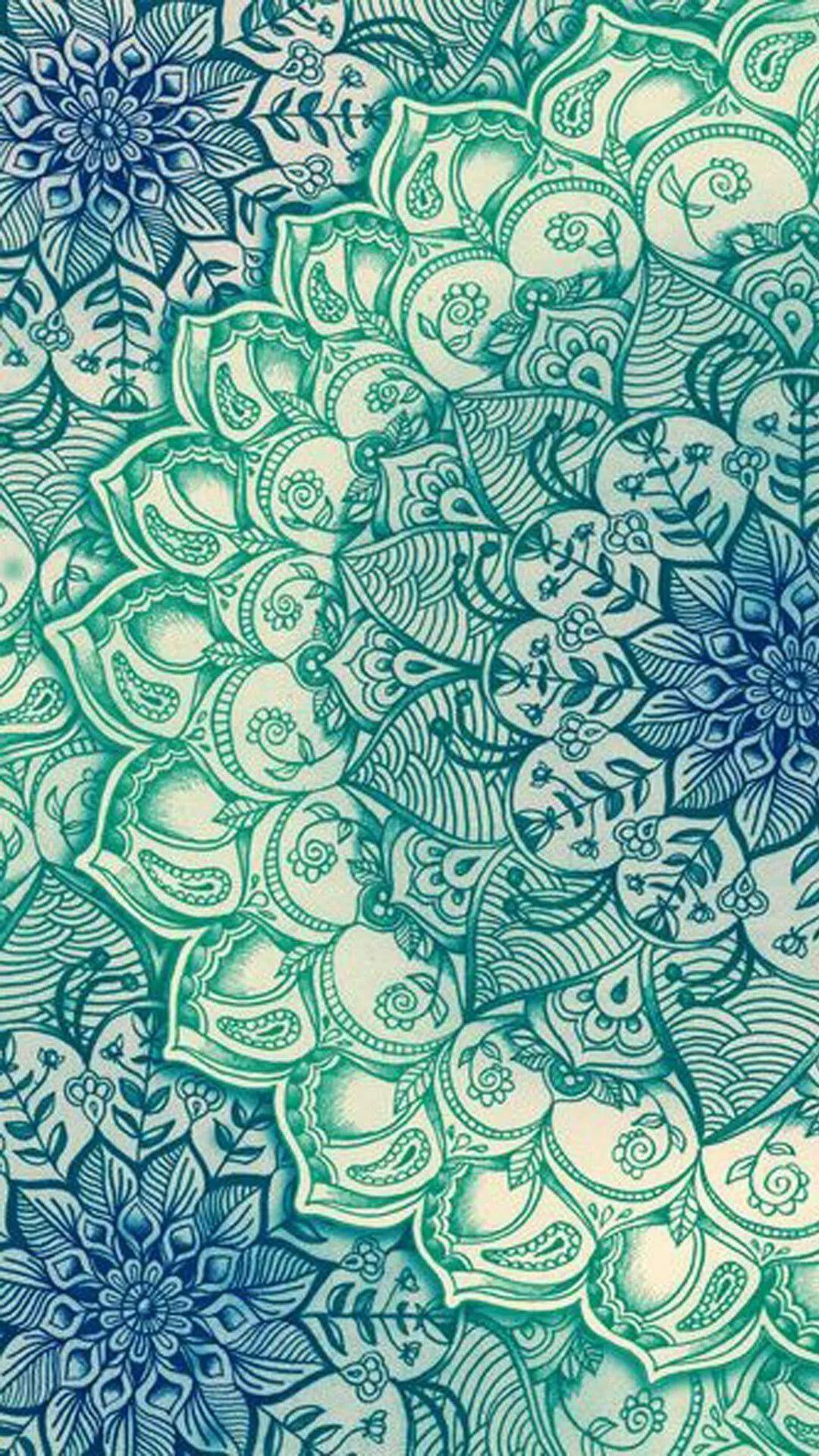Mandala phone background