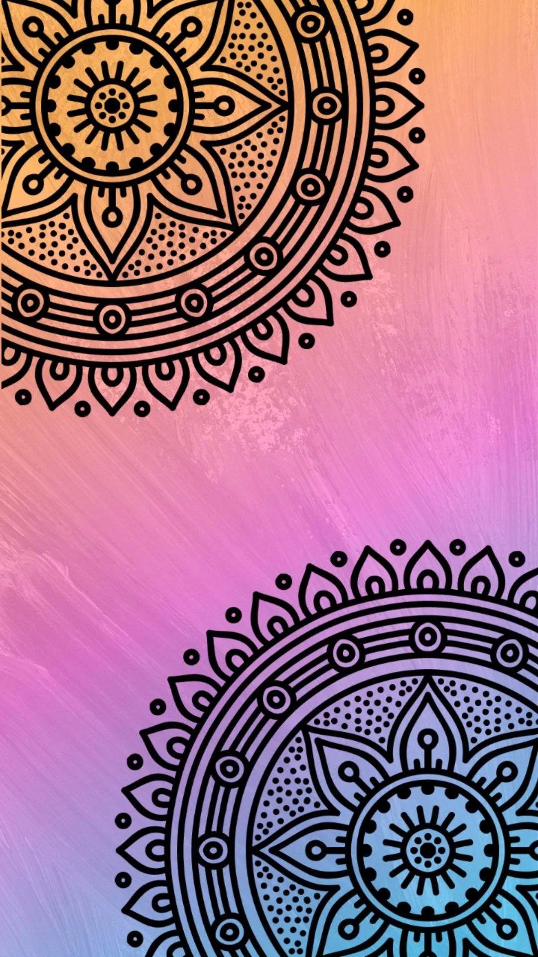 Mandala phone wallpaper