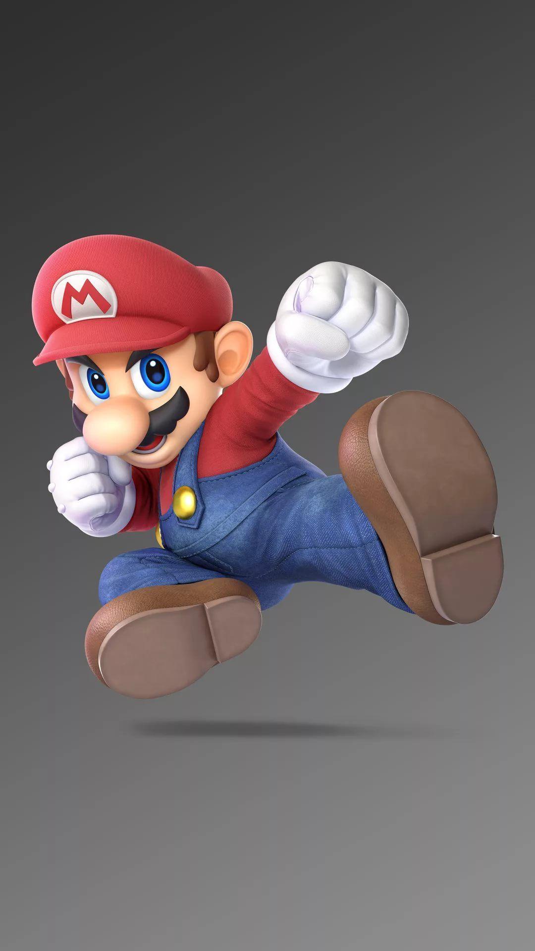 Mario iPhone wallpaper