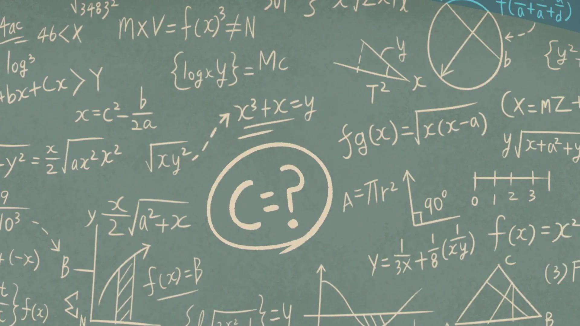 Math Equation 1080p Wallpaper