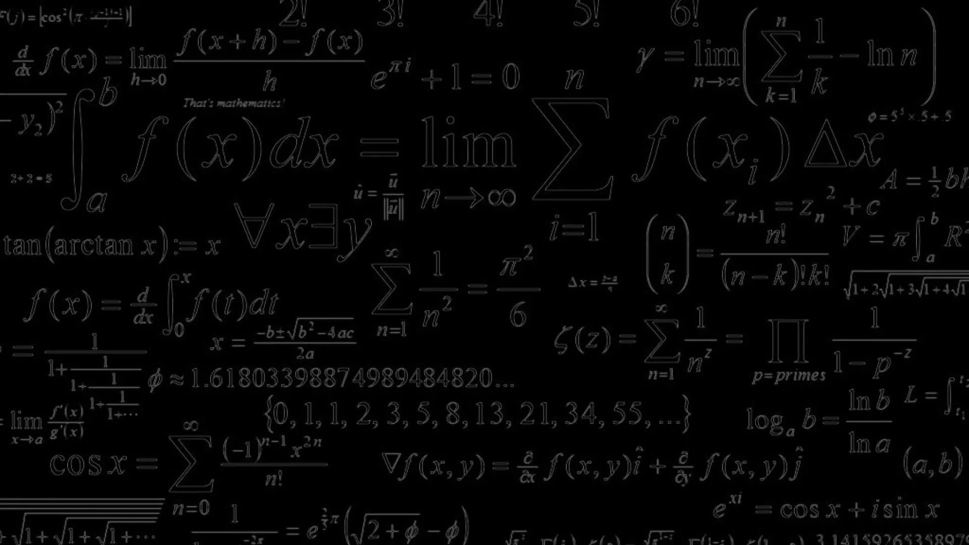 Math Equation wallpaper download