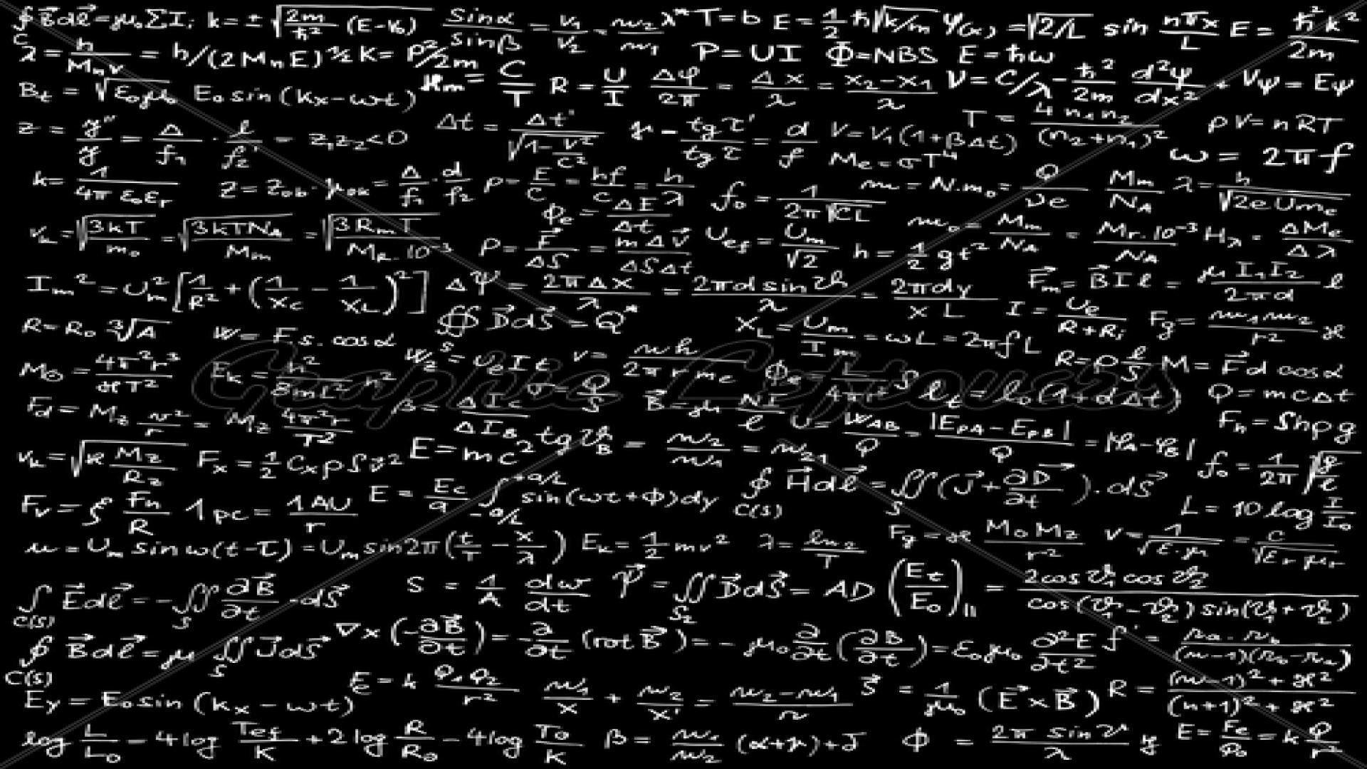 Math Equation PC Wallpaper HD