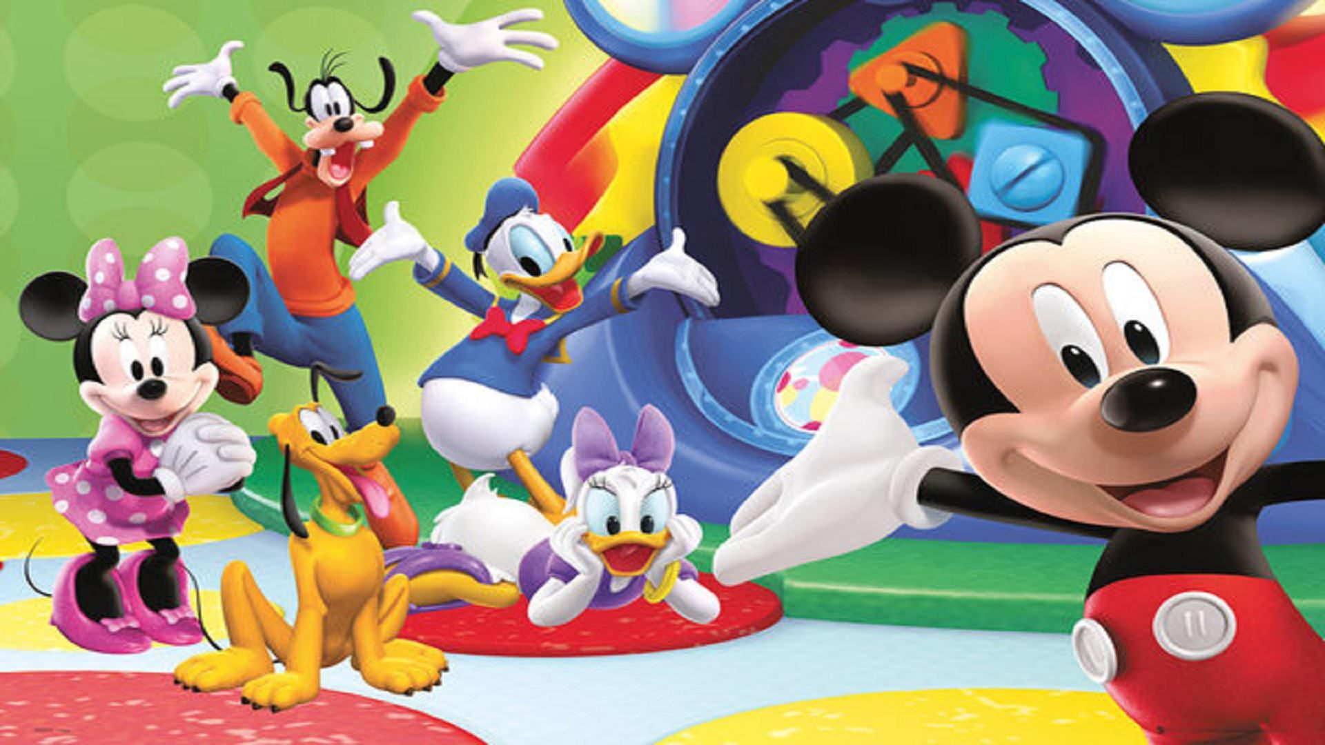 Mickey Mouse Clubhouse Birthday Clipart wallpaper