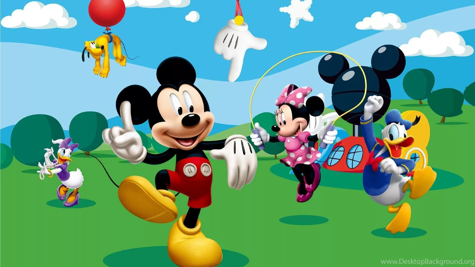 Mickey Mouse Clubhouse Birthday Clipart hd wallpaper