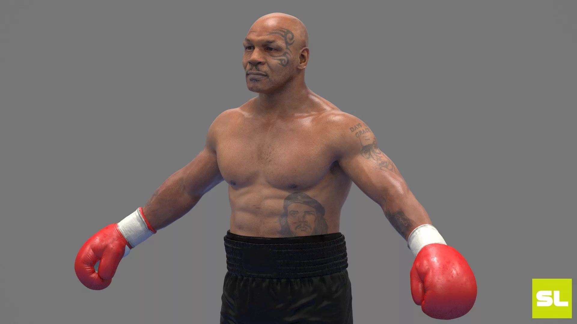 Mike Tyson Background Wallpaper HD