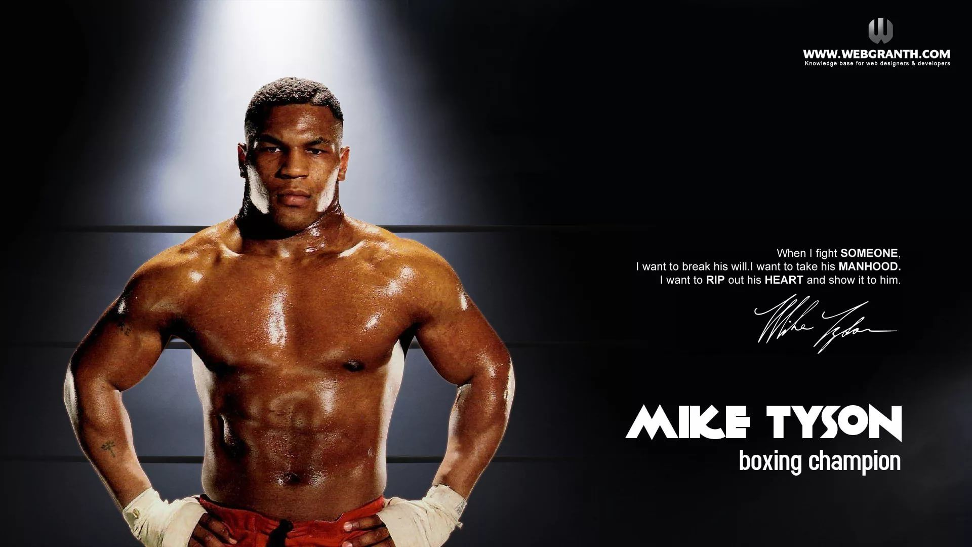 Mike Tyson Cool Wallpaper