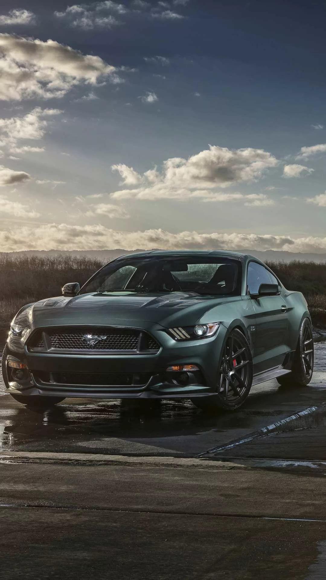 Mustang GT phone wallpaper
