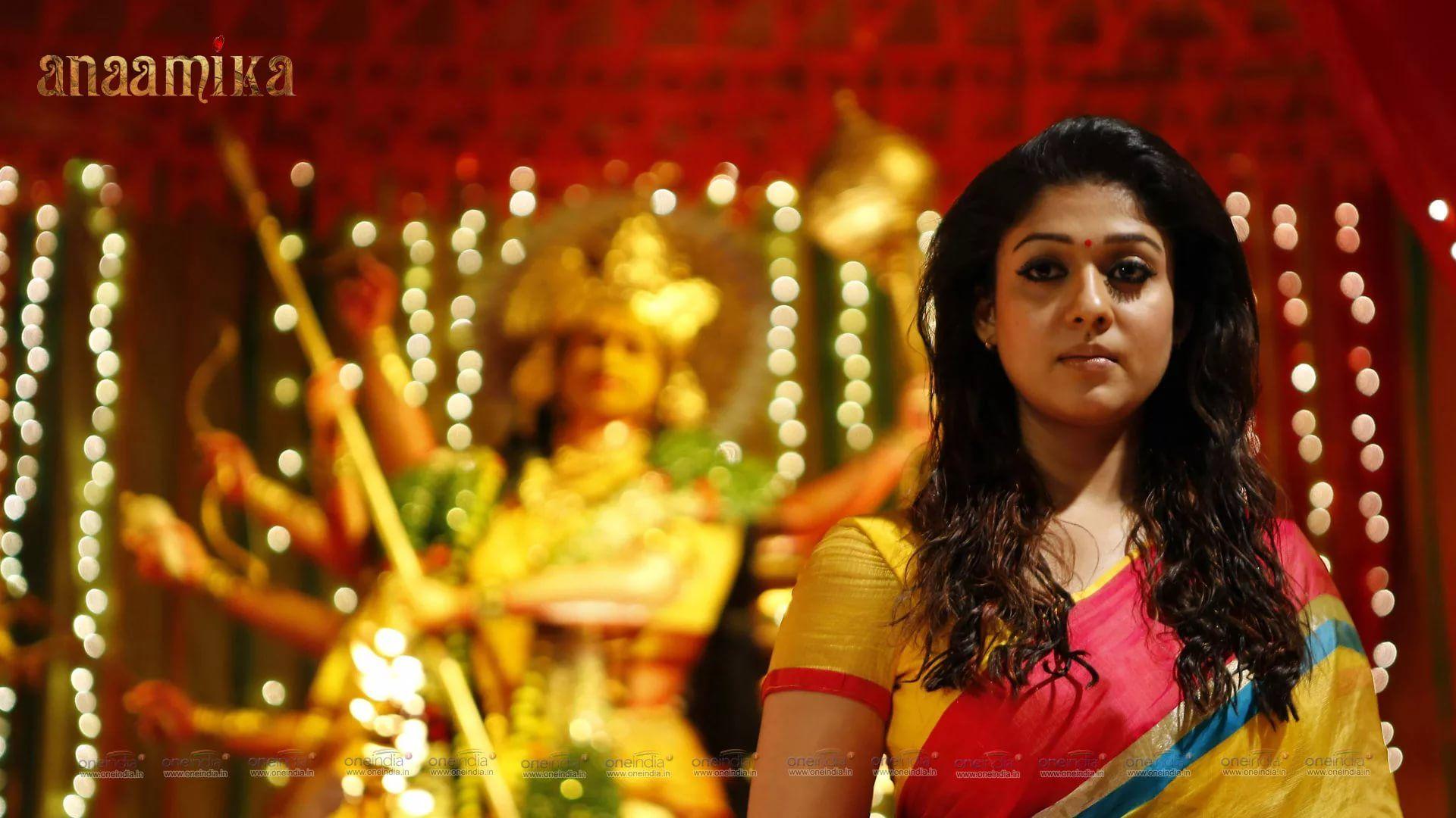 Nayanthara Hd Image Saree wallpaper