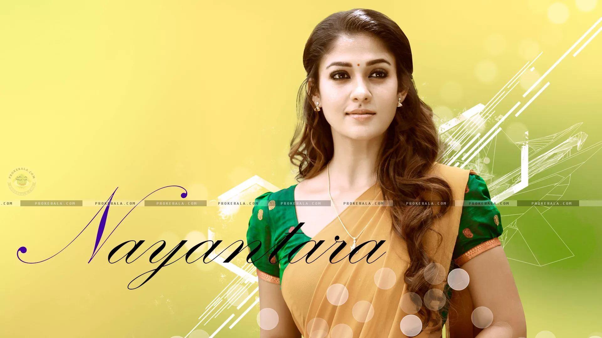 Nayanthara Hd Image Saree desktop wallpaper