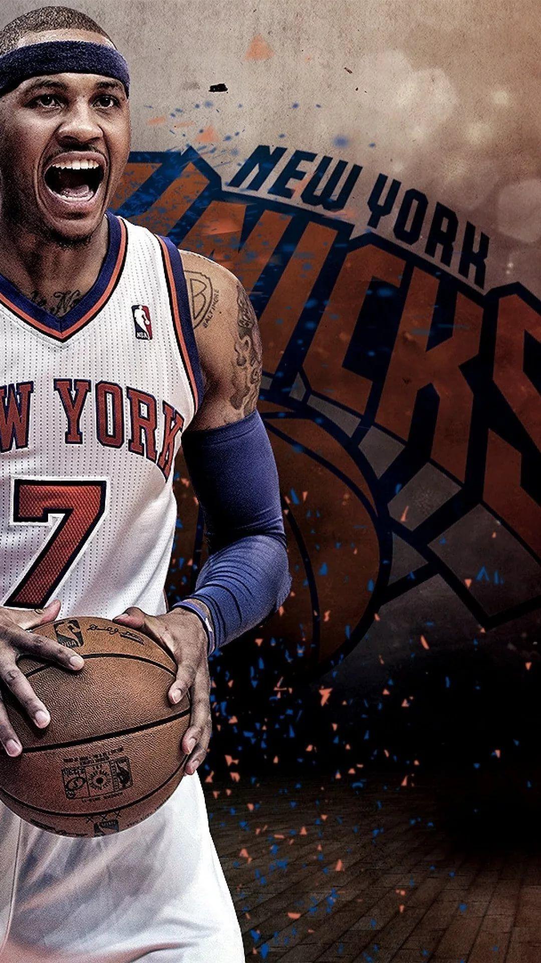 New York Knicks iPhone 7 wallpaper