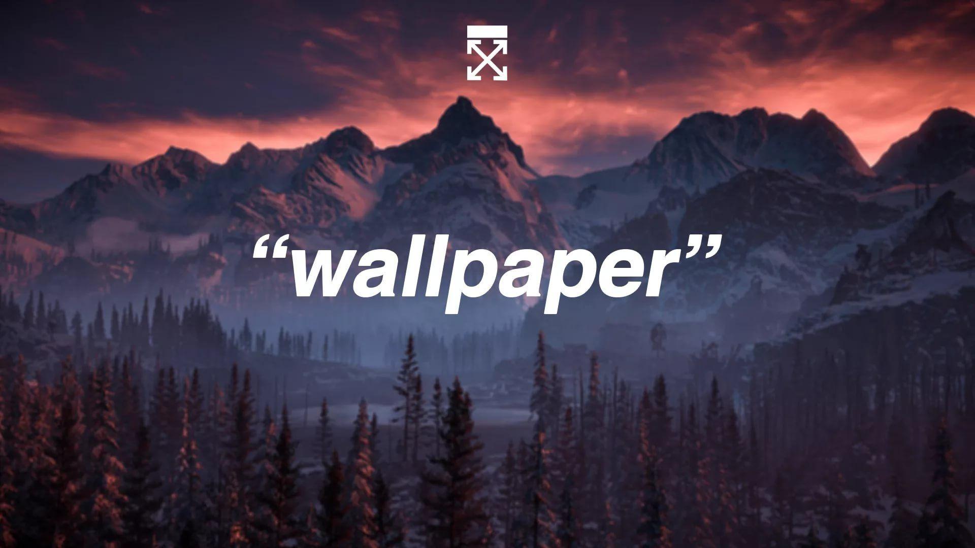 Off White Free Wallpaper