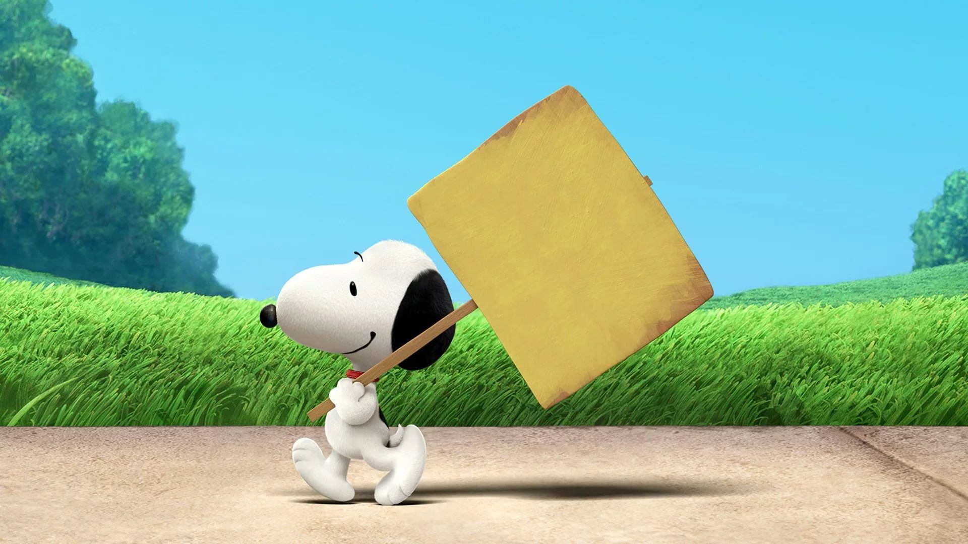 Peanuts Background Wallpaper