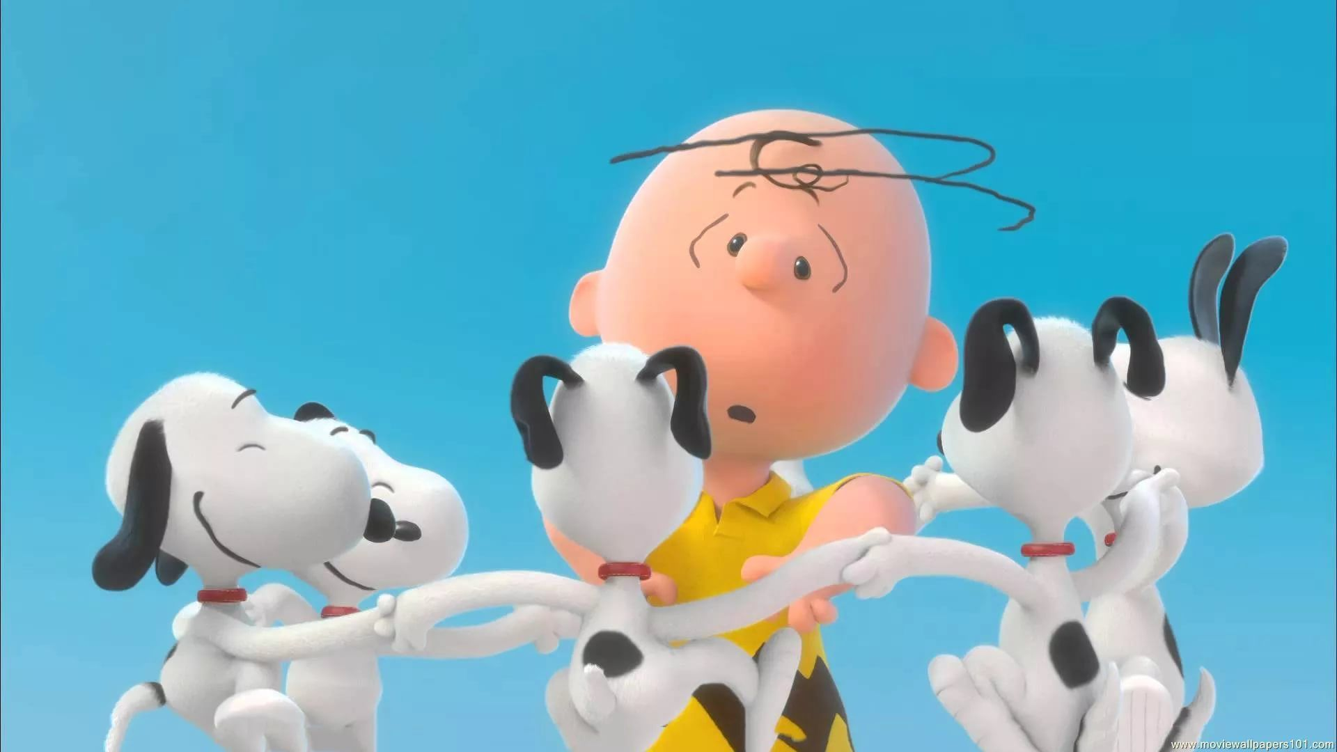 Peanuts Free Desktop Wallpaper