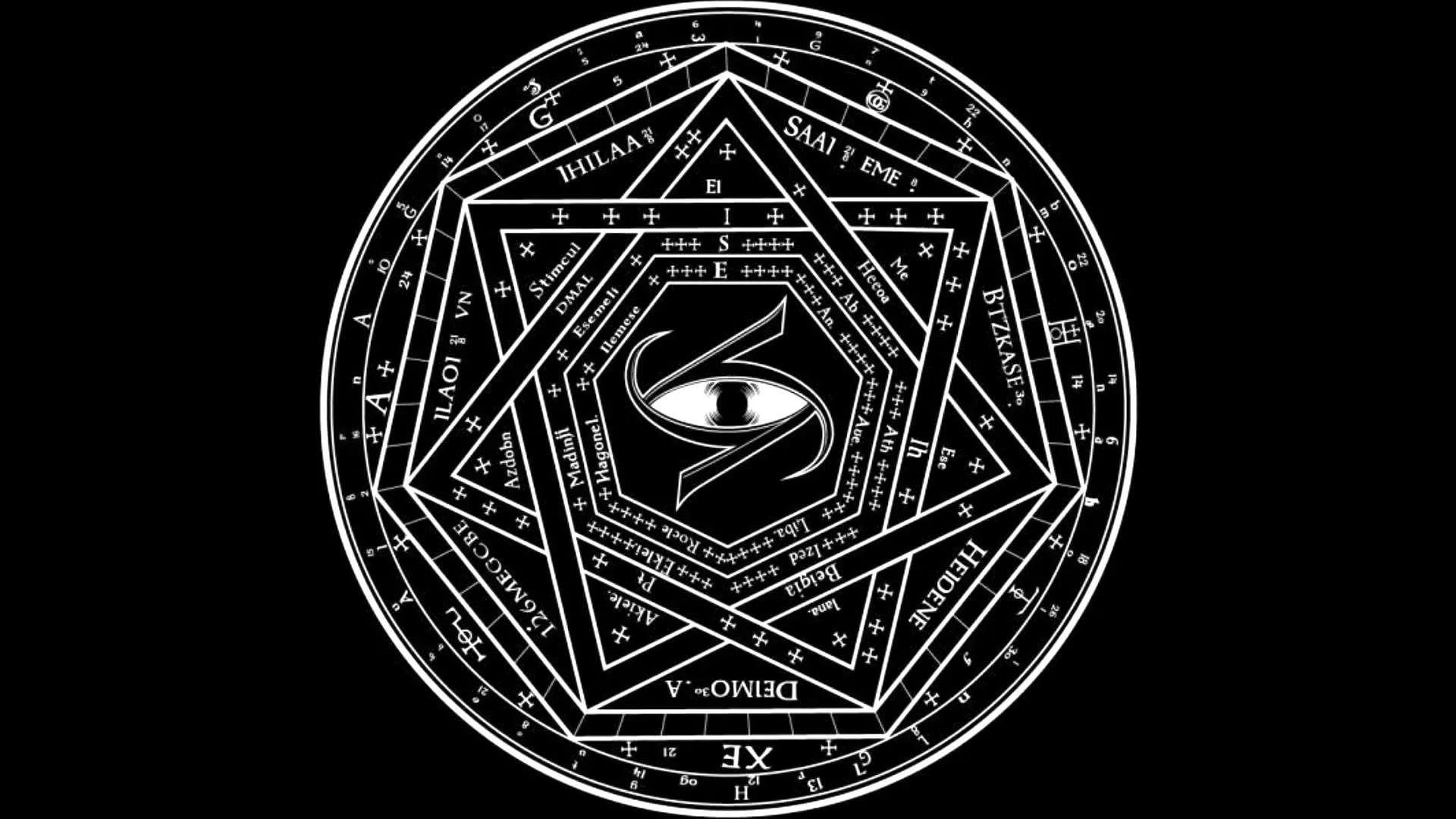 Pentagram desktop wallpaper