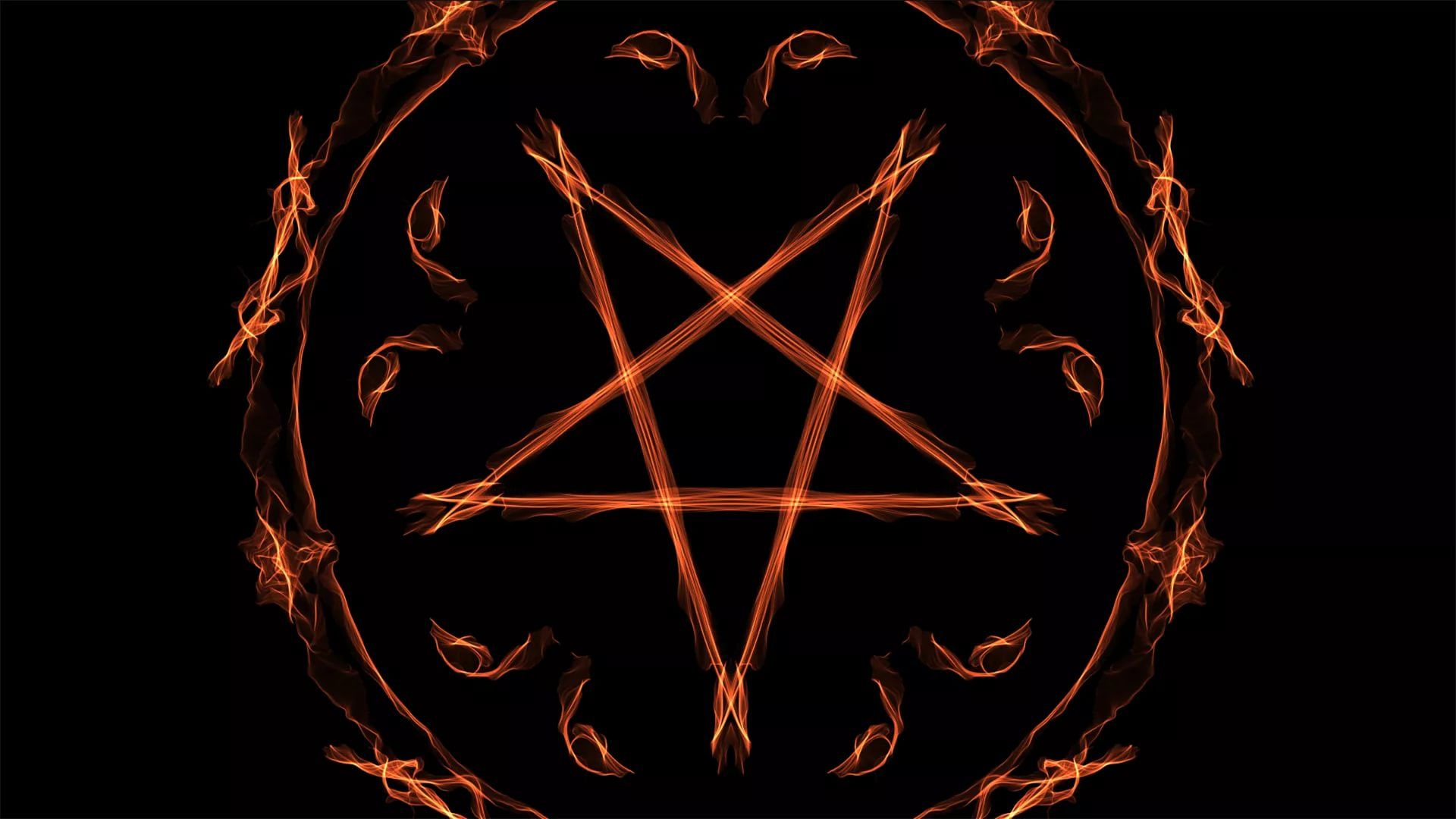 Pentagram background wallpaper