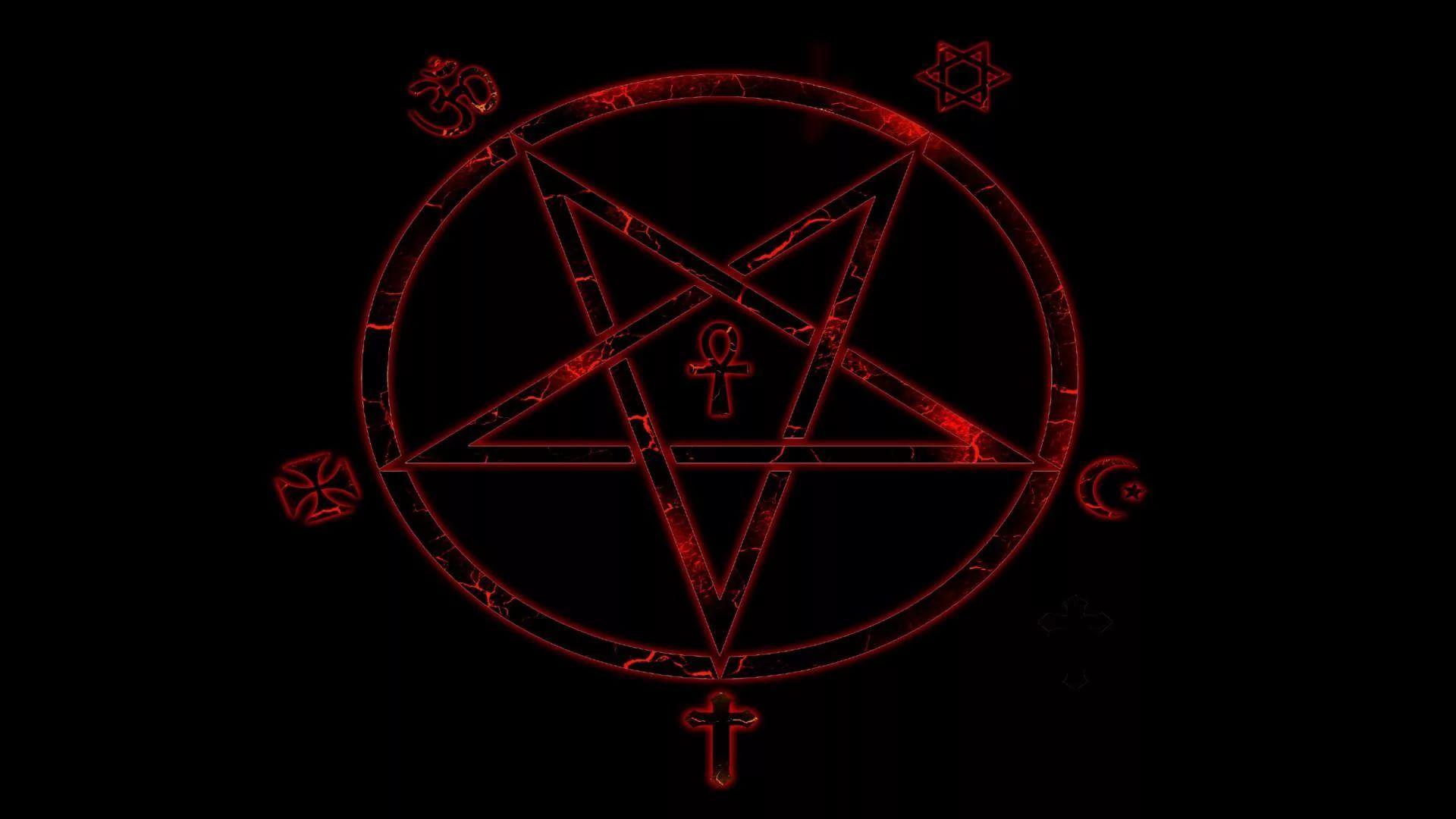 Pentagram wallpaper photo hd