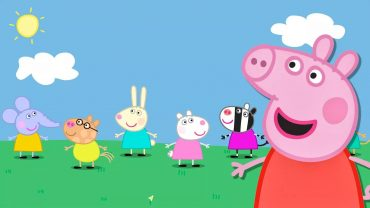 Peppa Pig background wallpaper