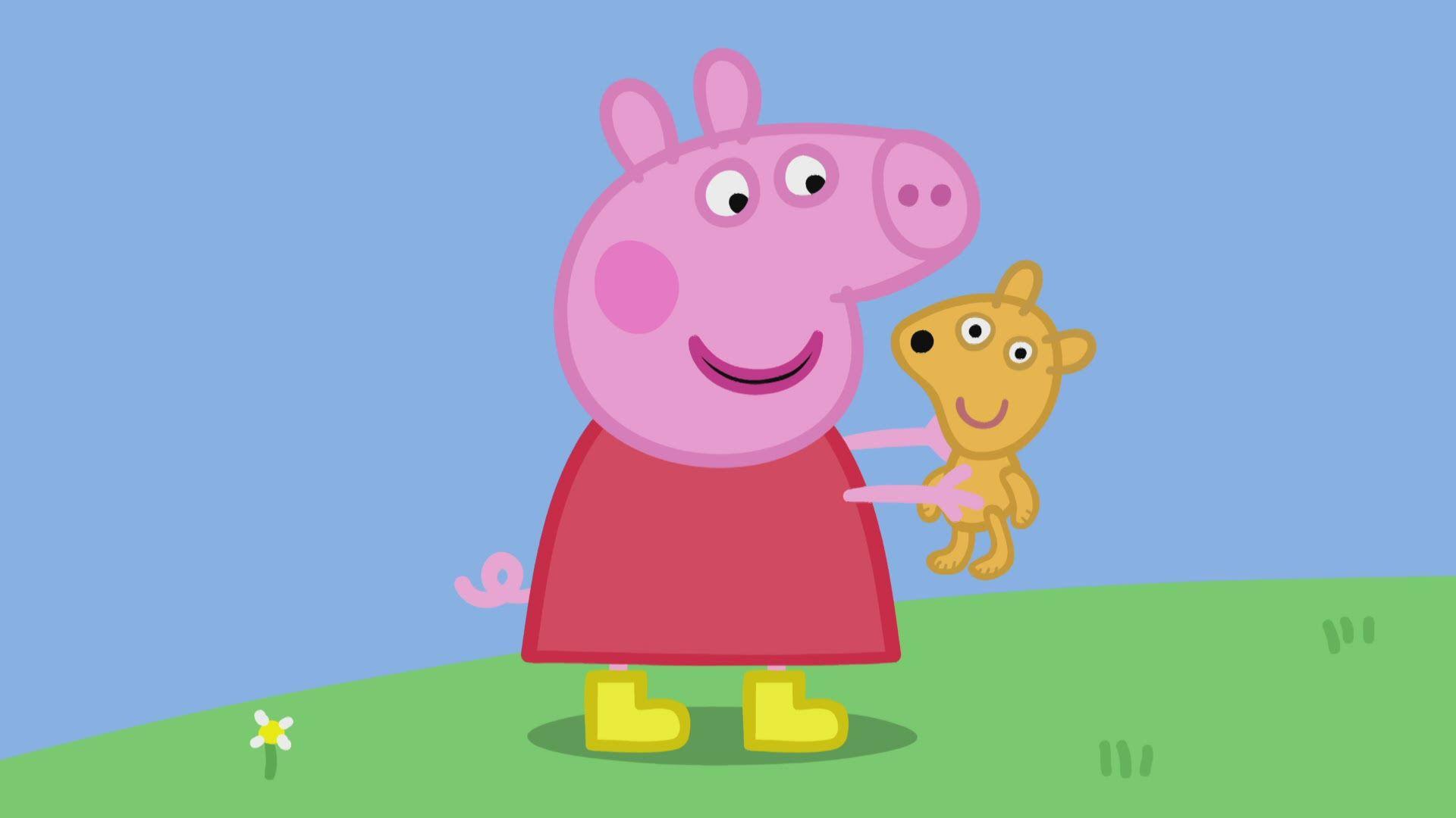 Peppa Pig desktop wallpaper download
