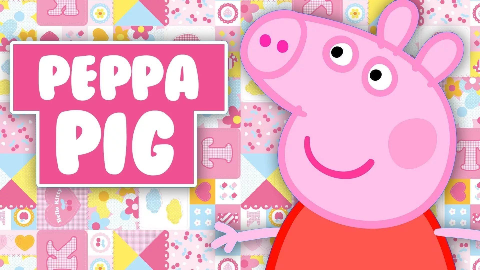 Peppa Pig free download wallpaper