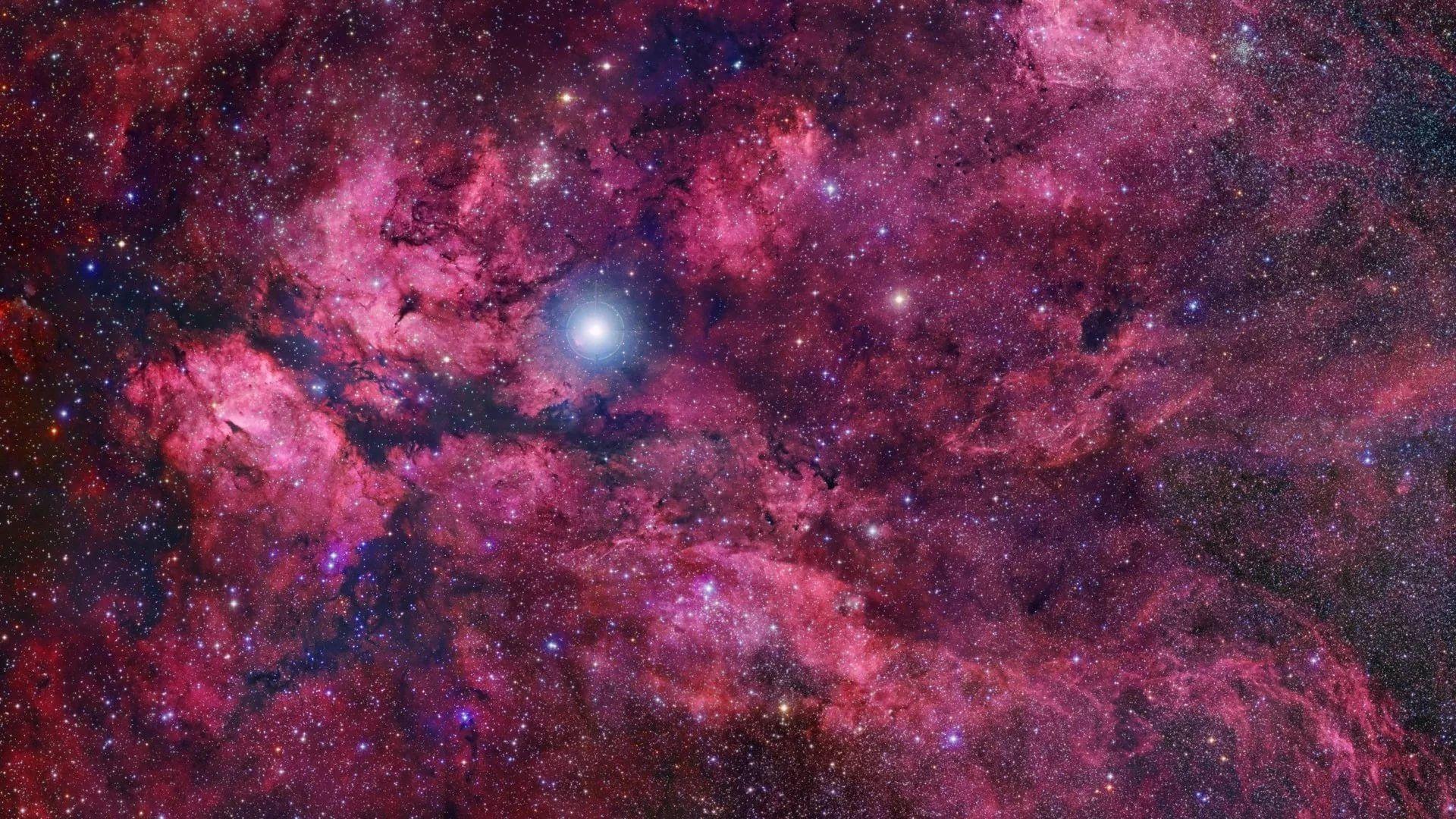 Pink Galaxy hd desktop wallpaper