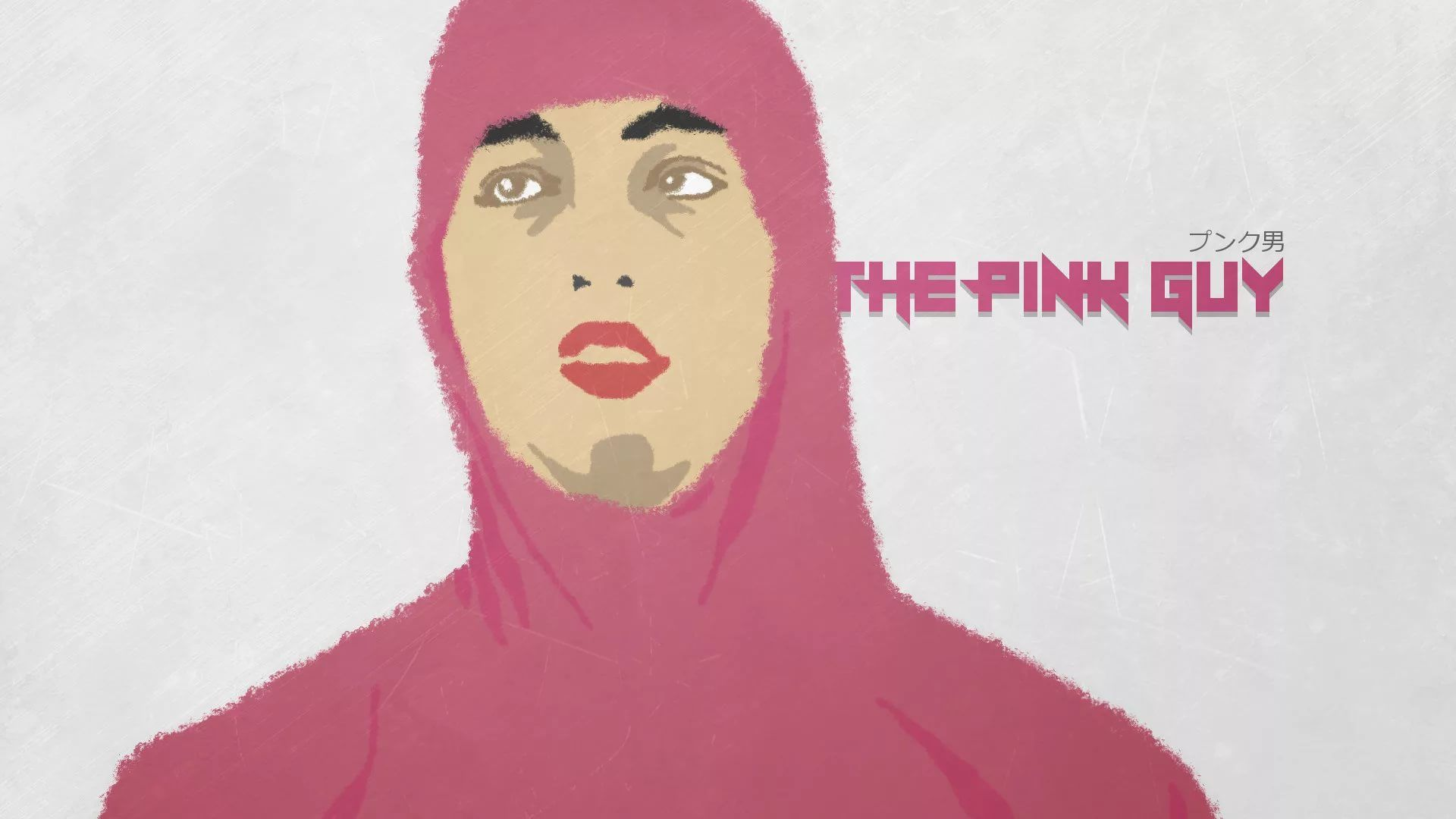 Pink Guy pc wallpaper