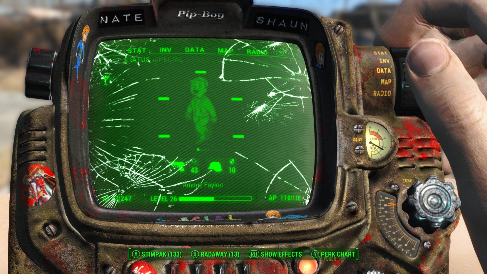 Pip Boy Free Wallpaper and Background