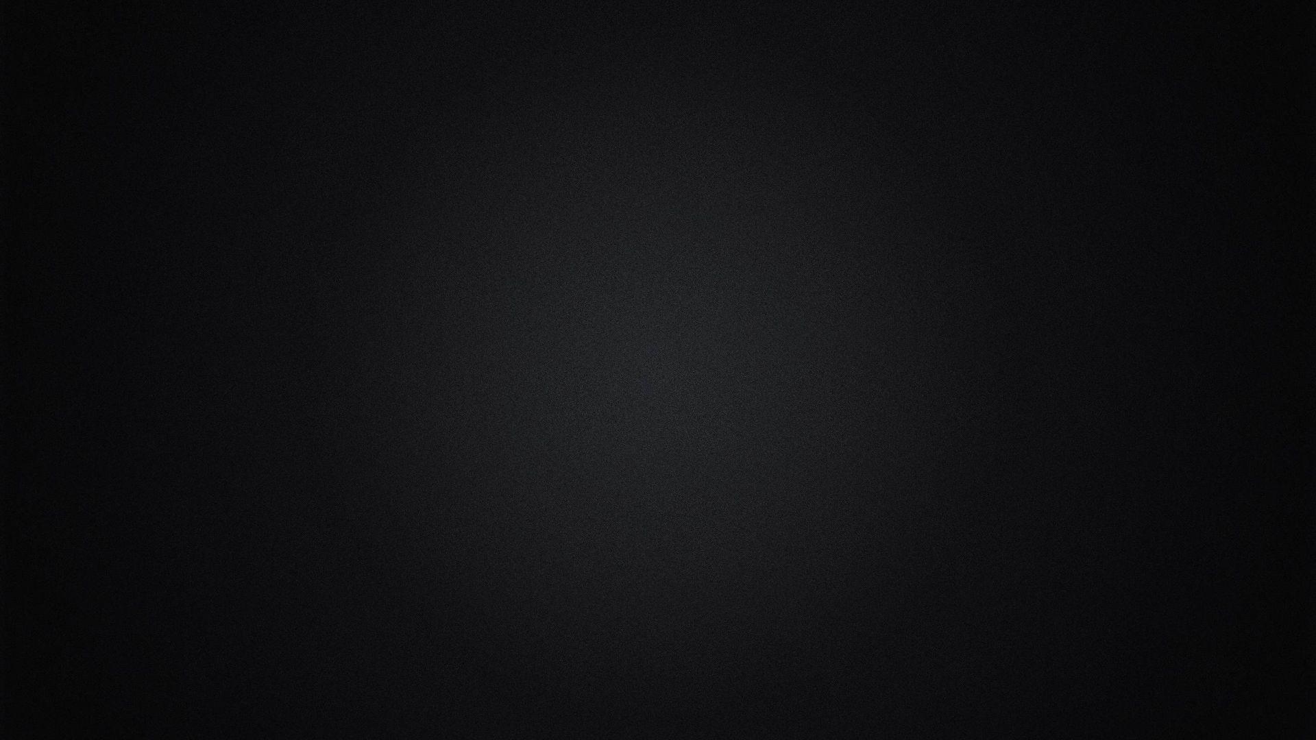 Plain Black HD Desktop Wallpaper