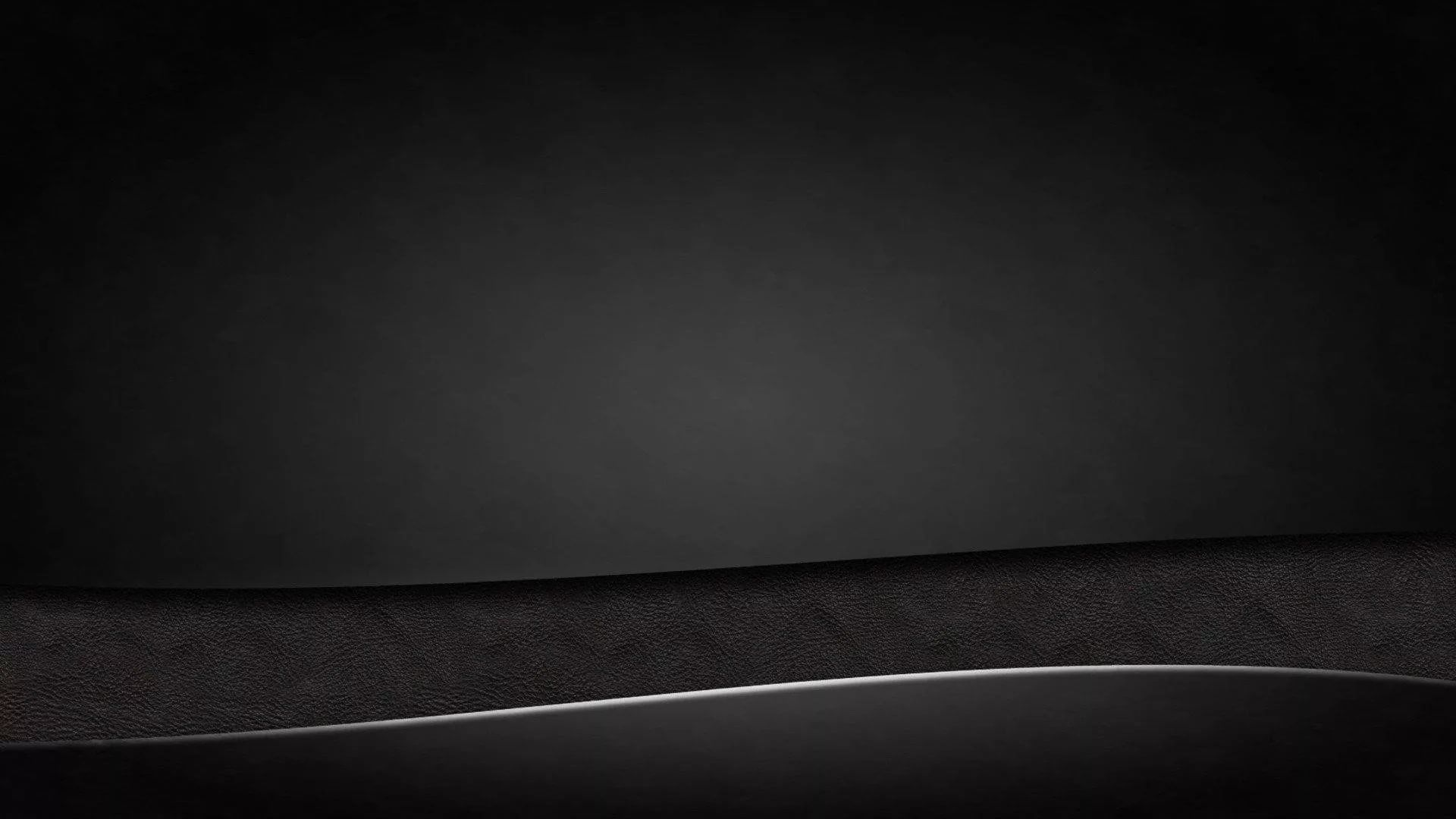 Plain Black PC Wallpaper