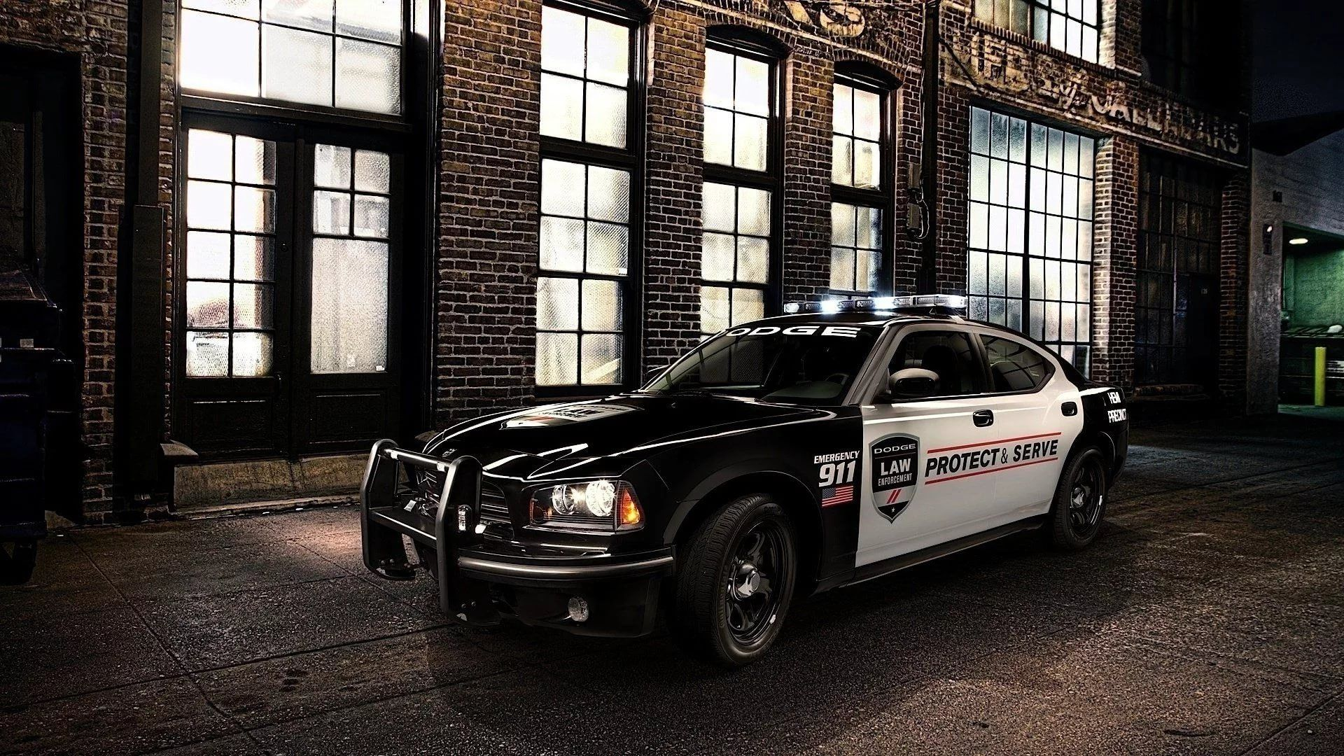 Police background wallpaper