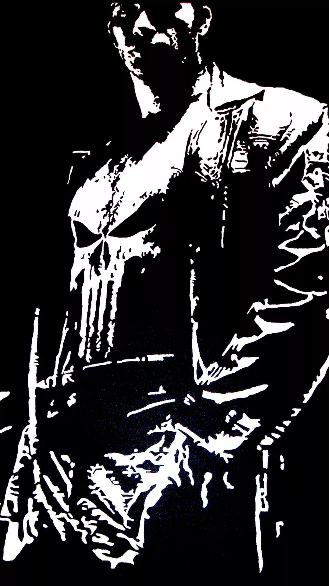 Punisher iPhone 6 wallpaper