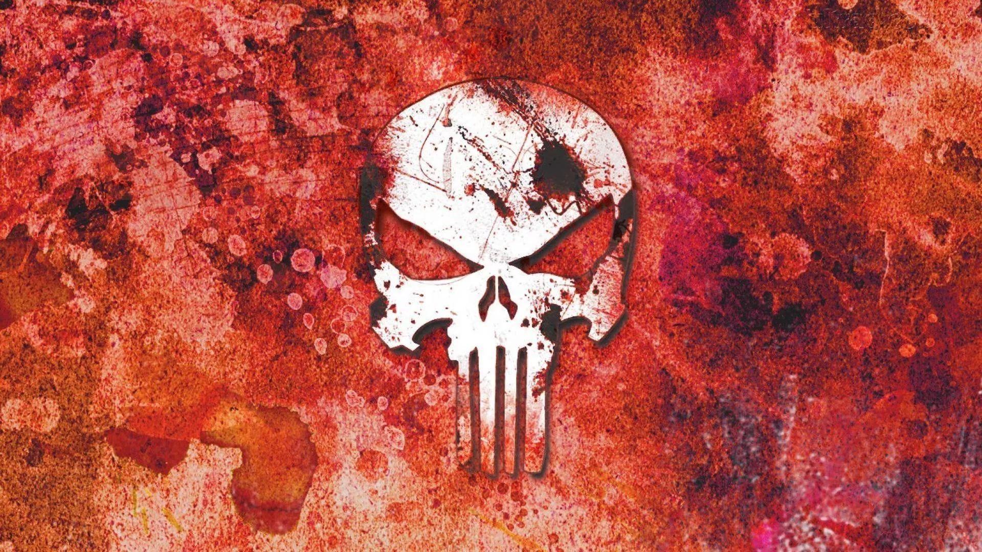 Punisher Skull PC Wallpaper HD