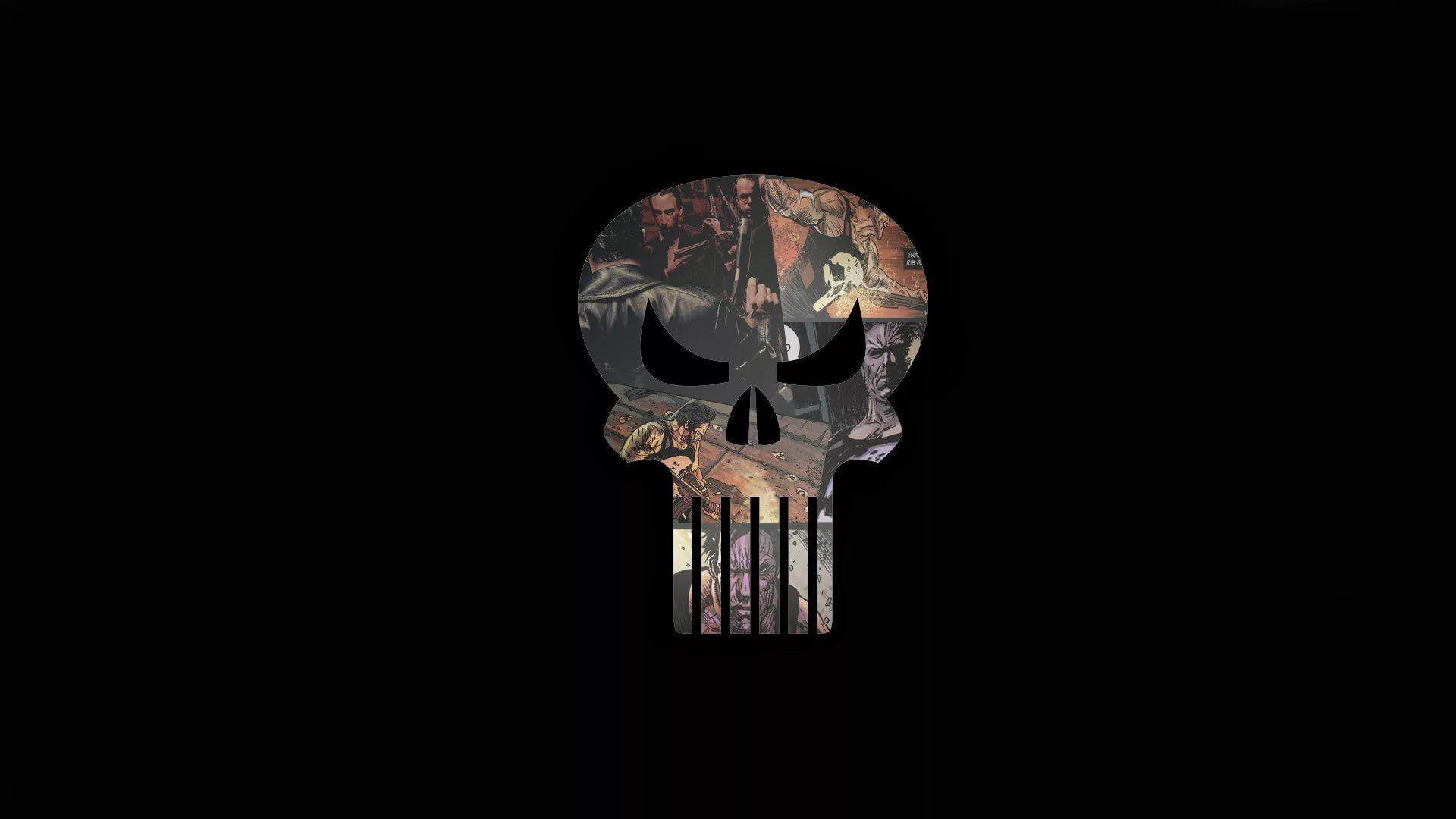 Punisher Skull desktop wallpaper download