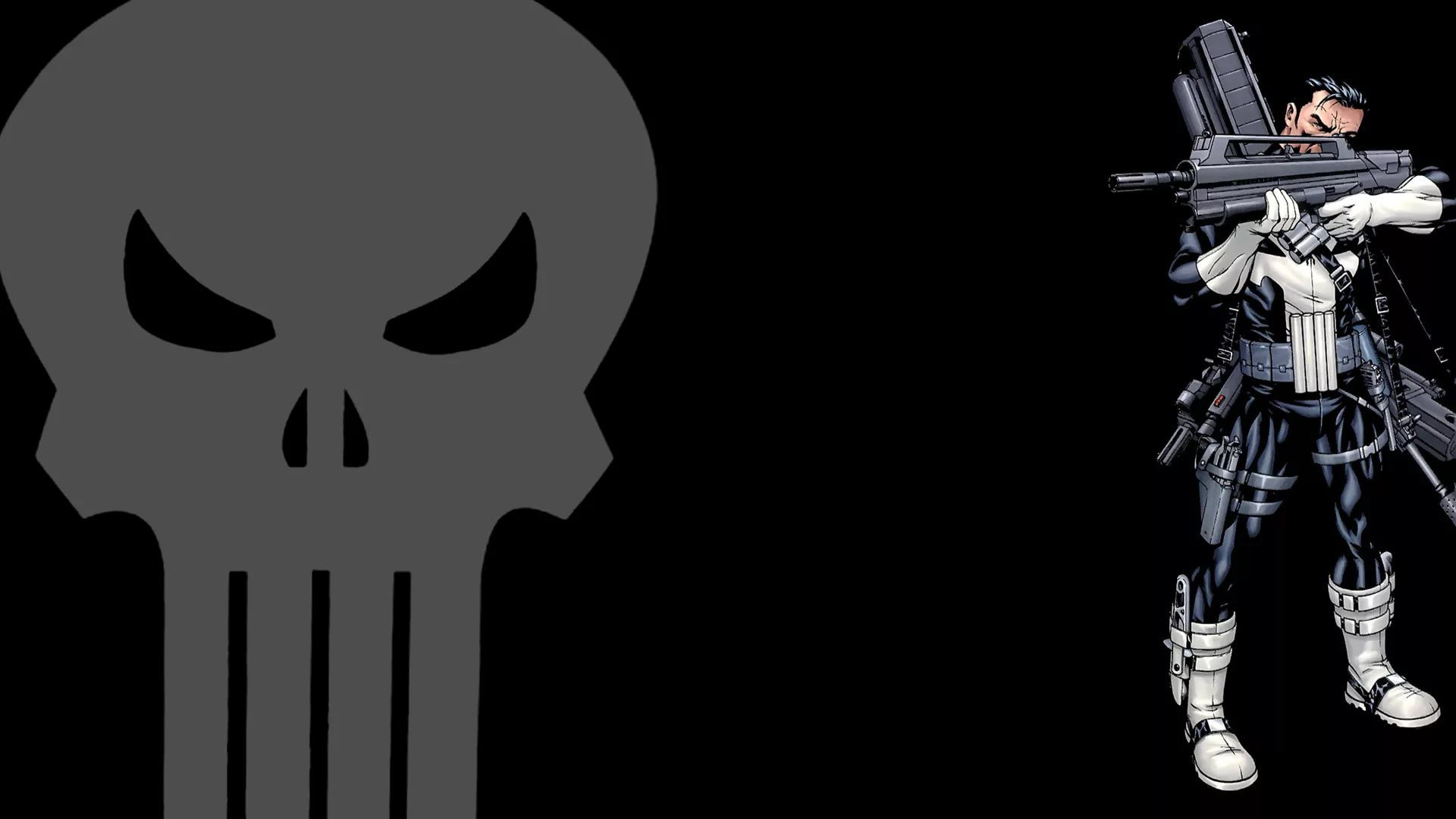 Punisher Skull wallpaper and themes