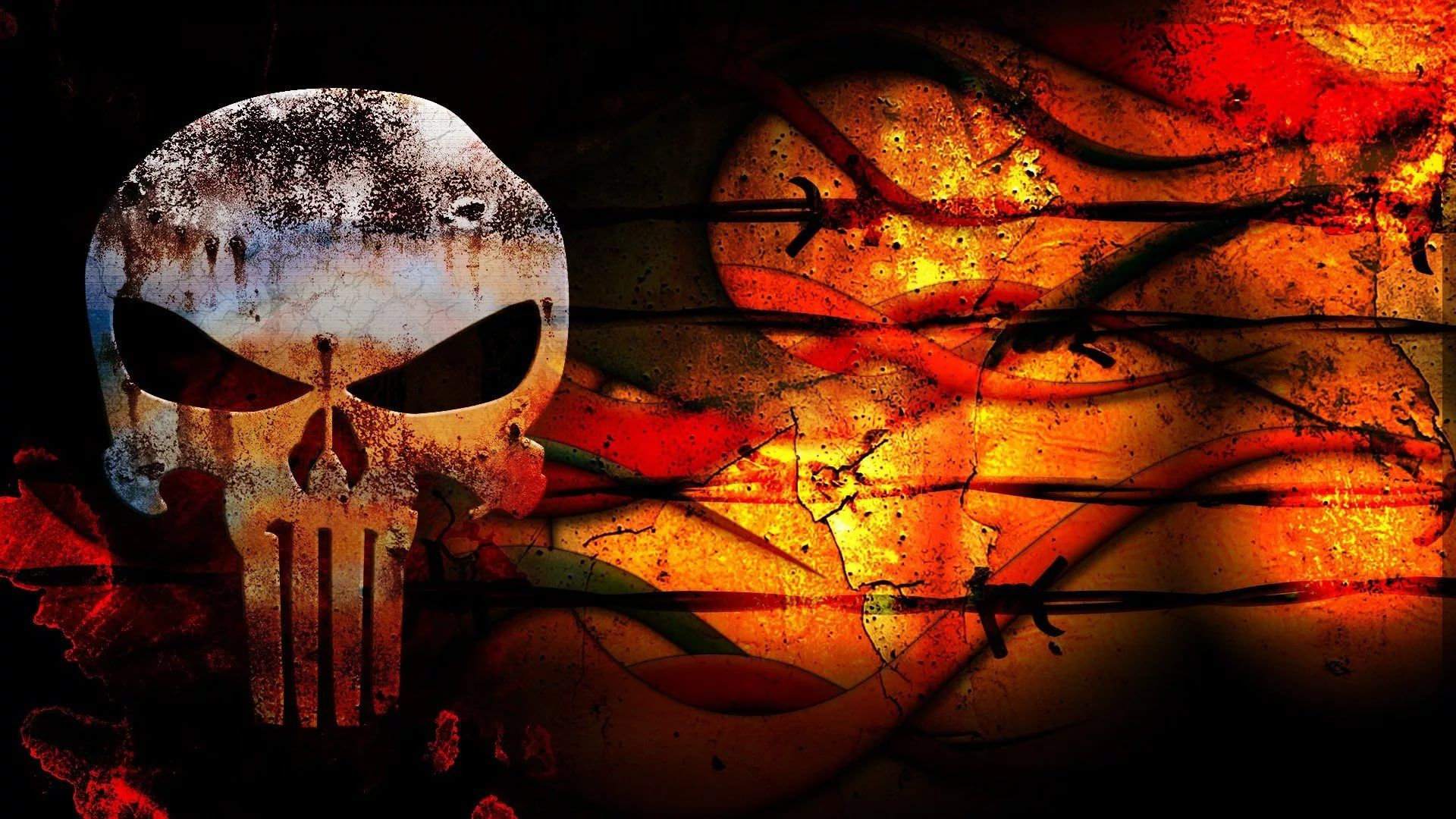 Punisher Skull Full HD Wallpaper