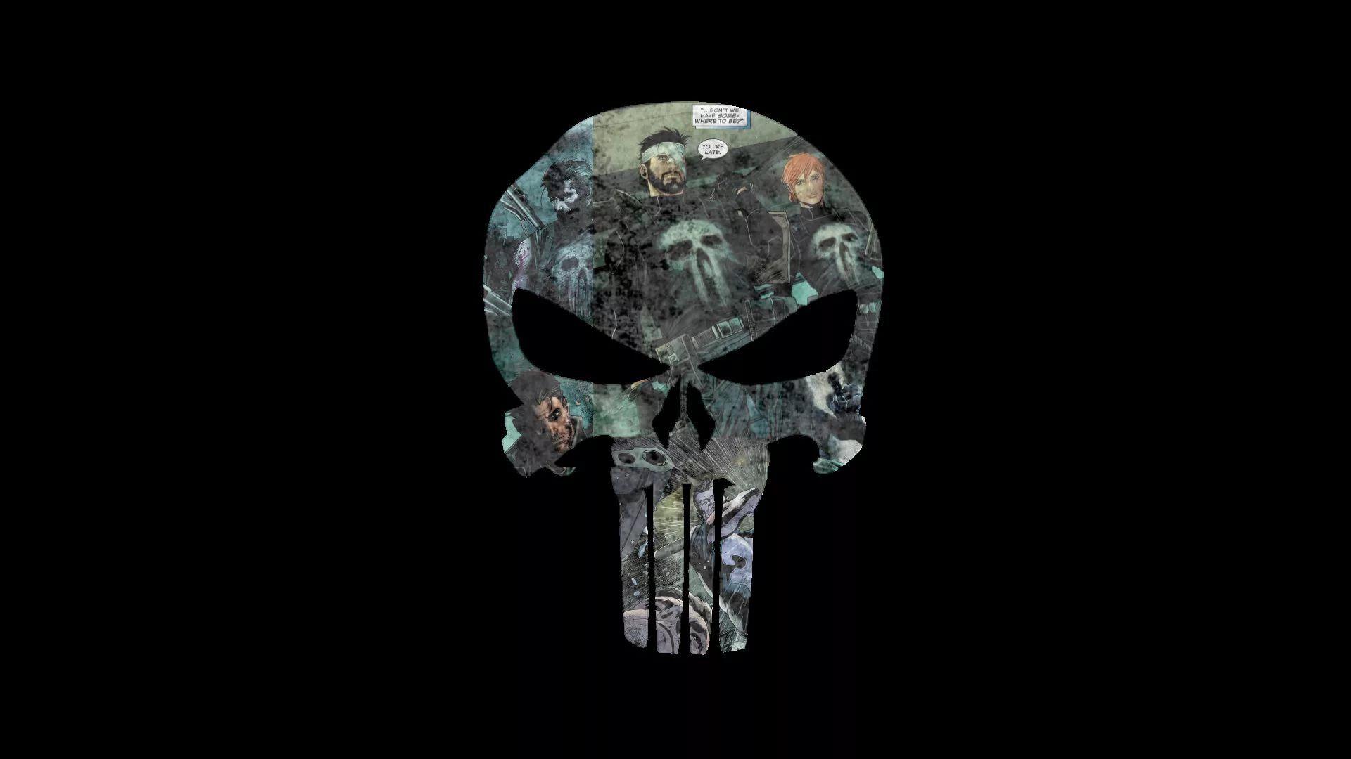 Punisher Skull Cool Wallpaper