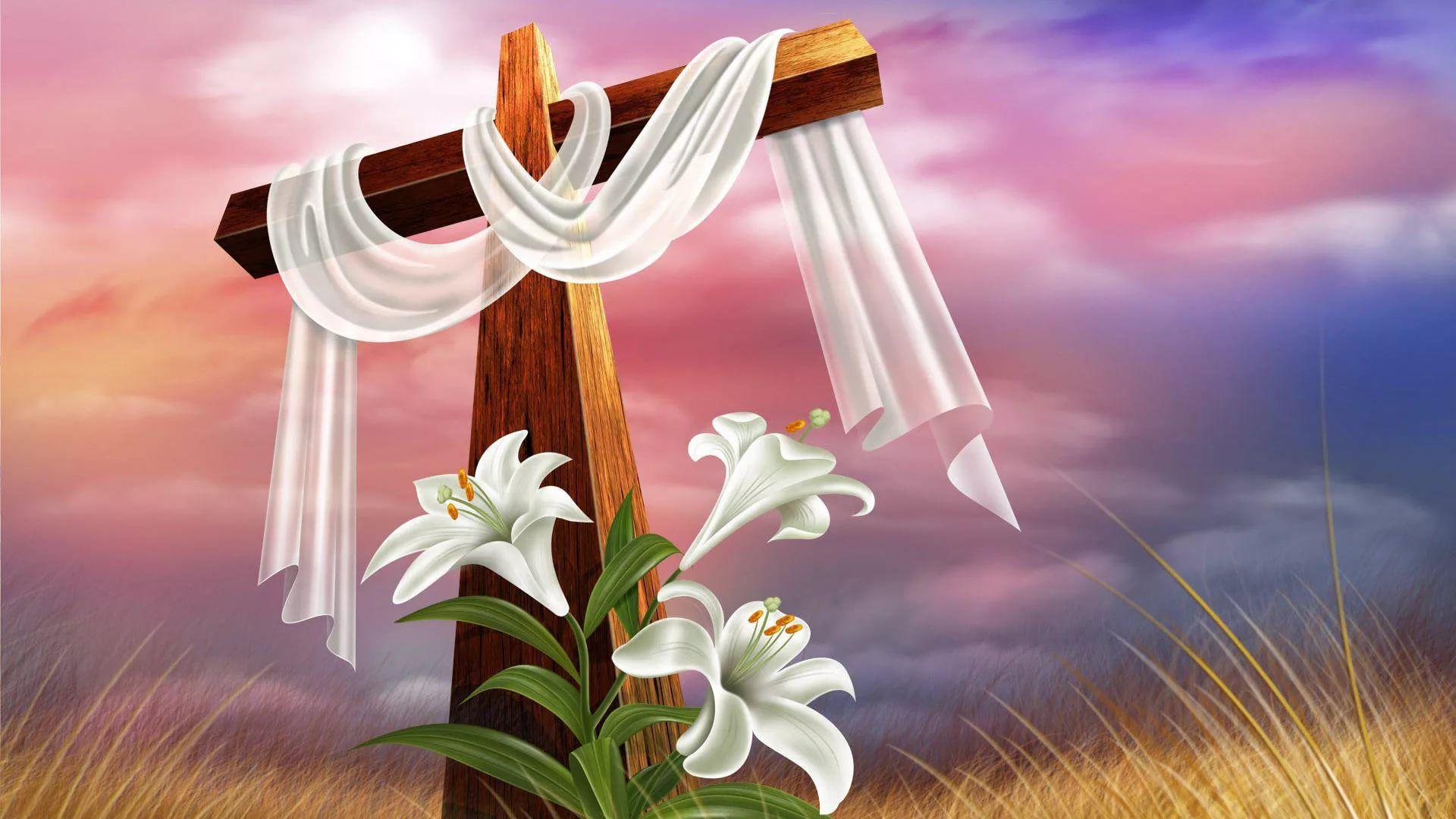 Religious Easter Free Wallpaper