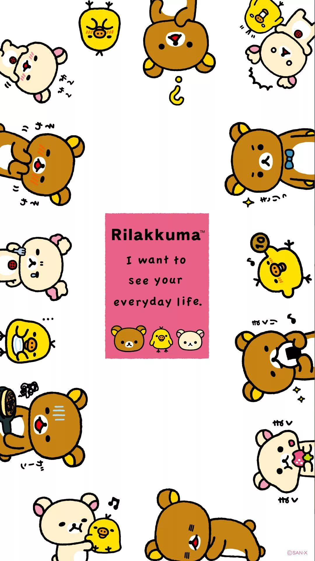 Rilakkuma phone background