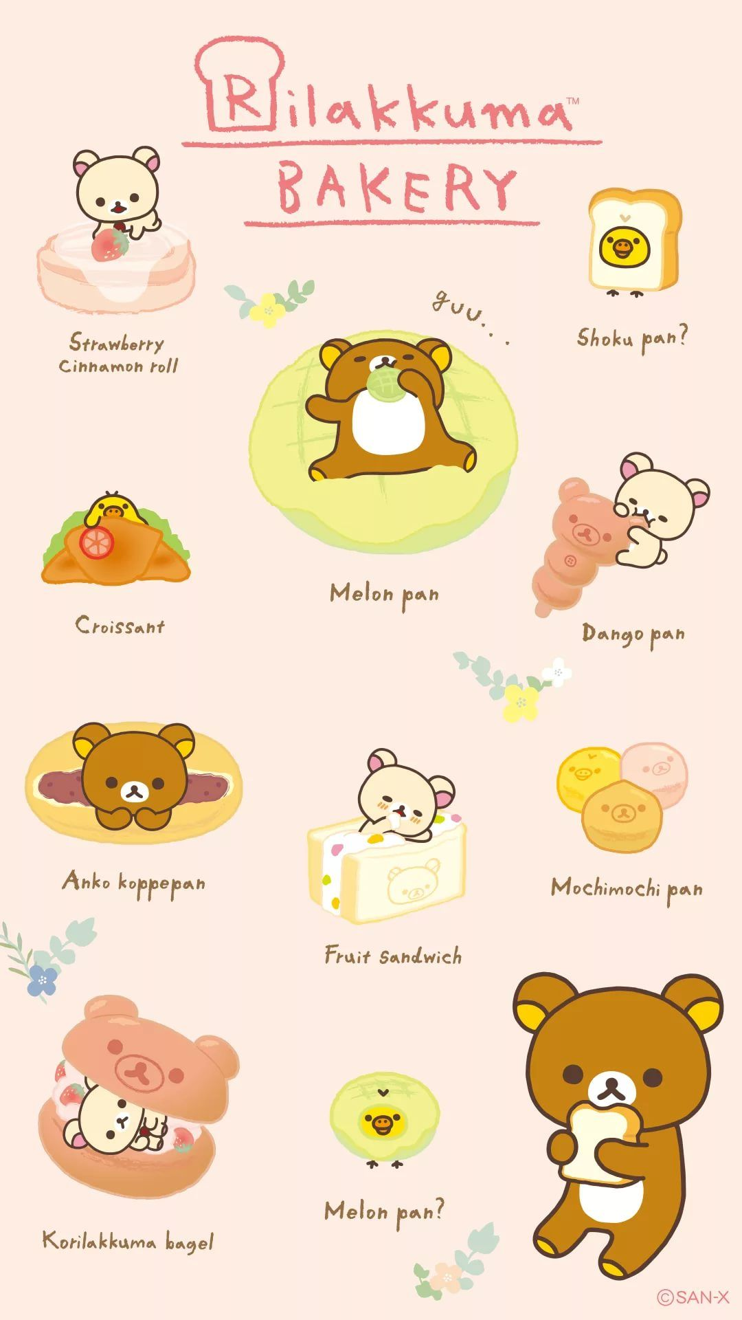 Rilakkuma iPhone hd wallpaper