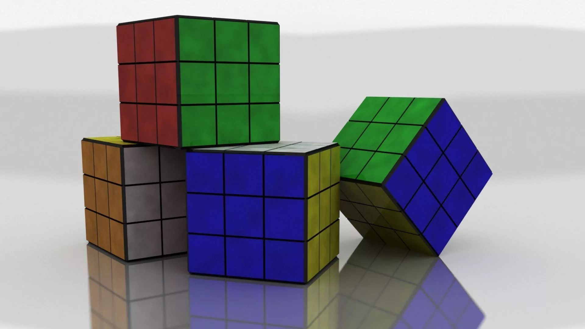Rubiks Cube free hd wallpaper